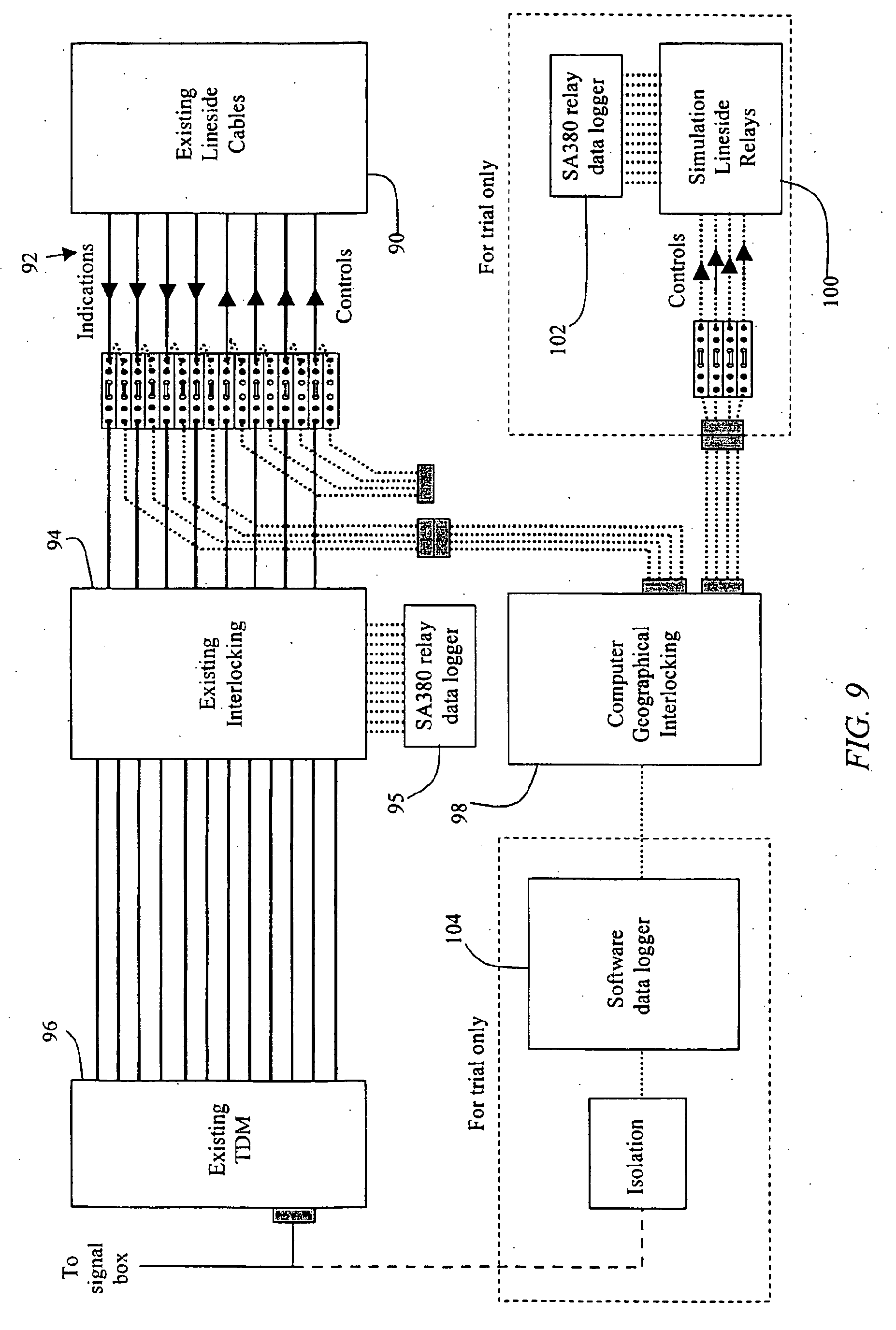 patent ep1750988b1 - railway signalling system  method and interlocking