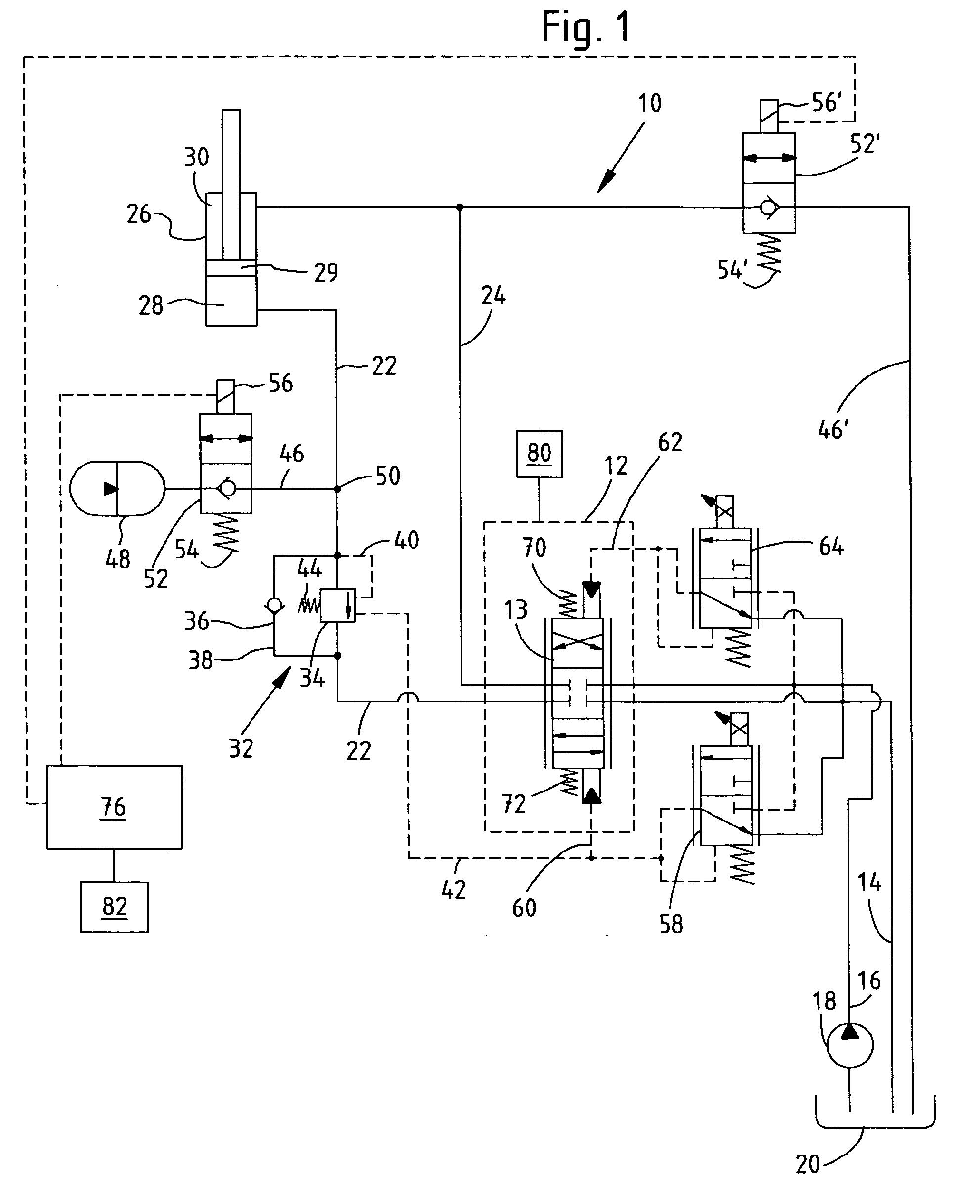 patent ep1752587b1 - hydraulische anordnung
