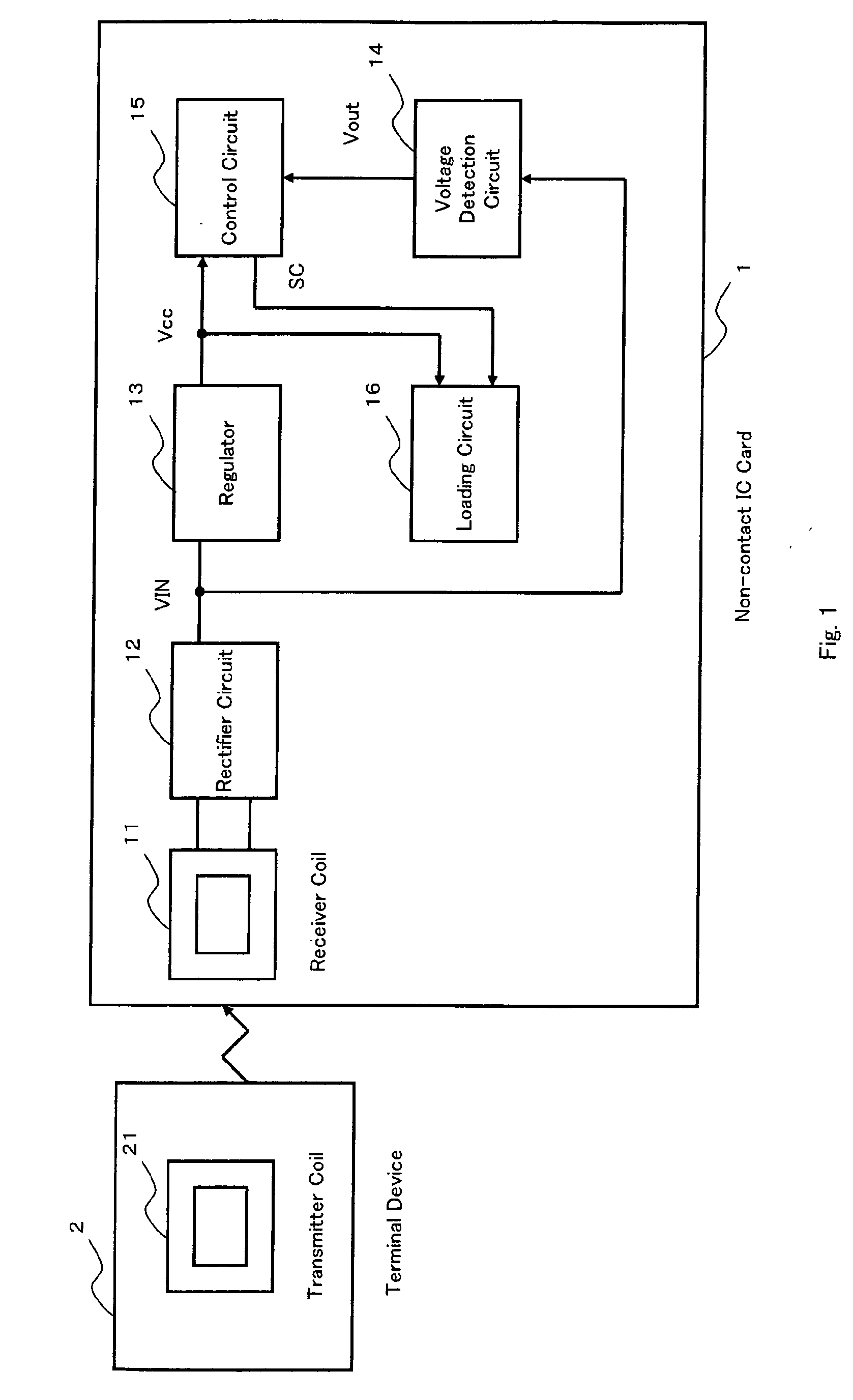 patent ep1752914a1 - non-contact ic card