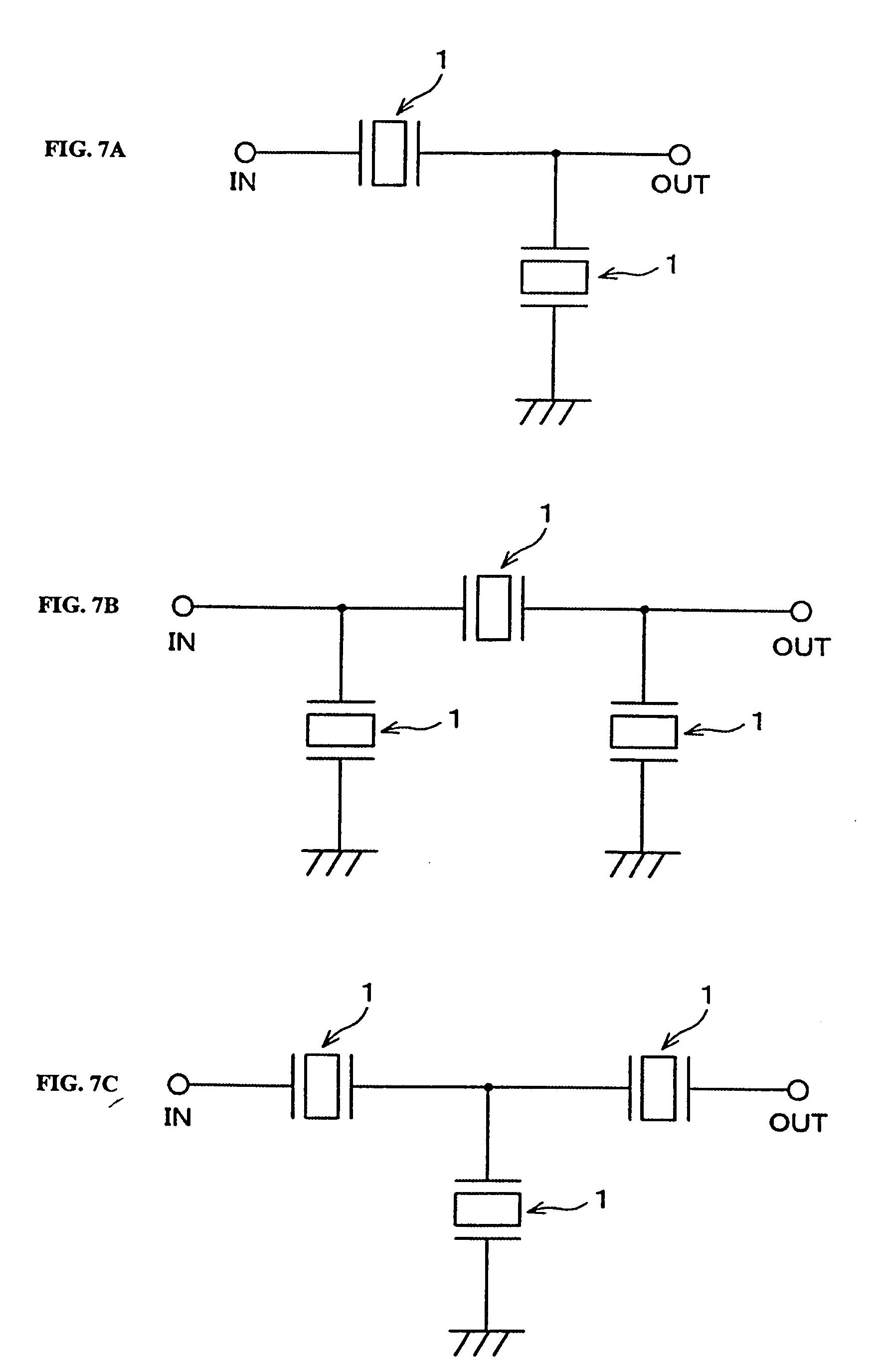 专利ep1755216a2 - piezoelectric
