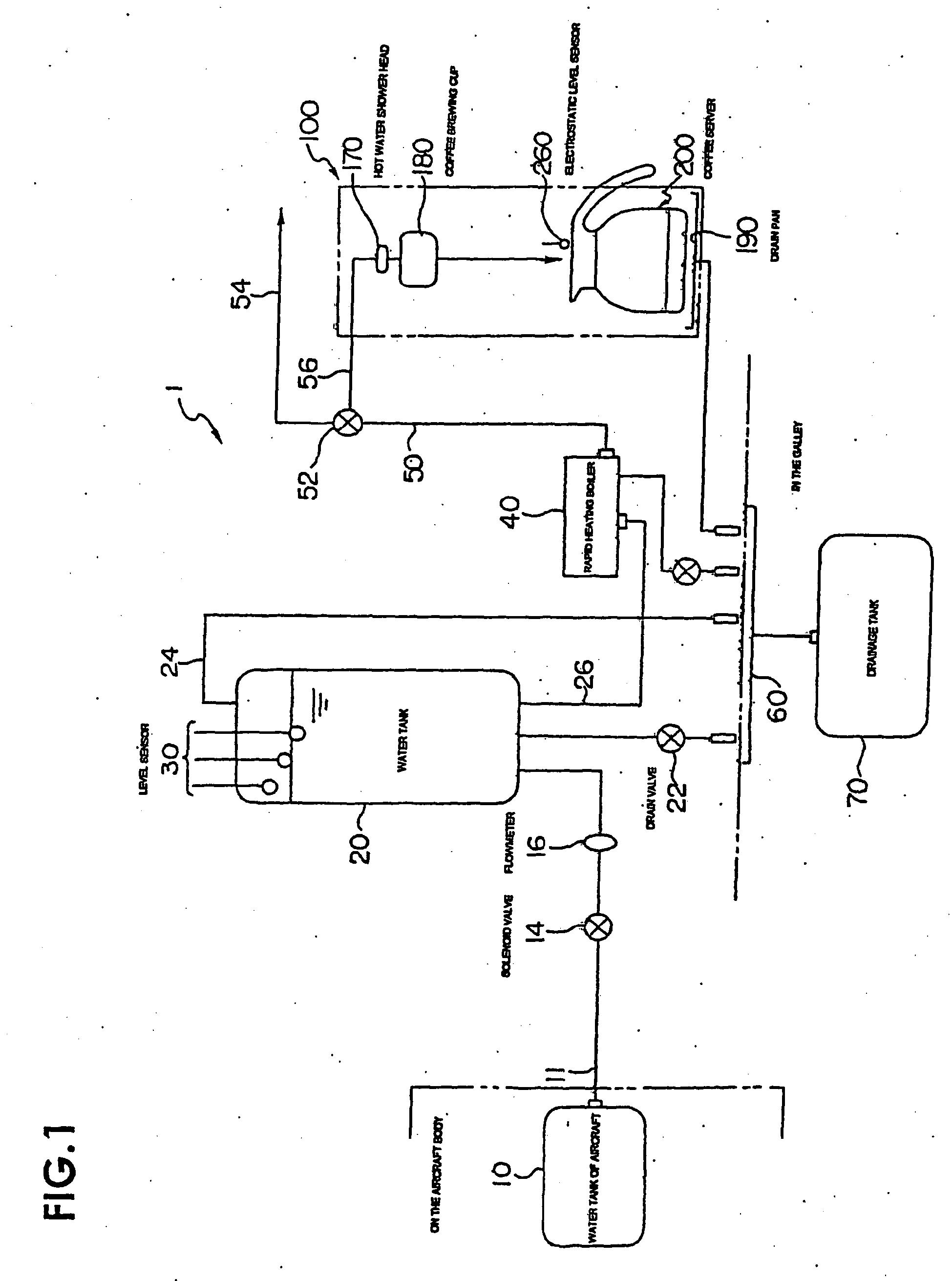 Patent EP1759617B1  Wasserheizer und Kaffeemaschine für
