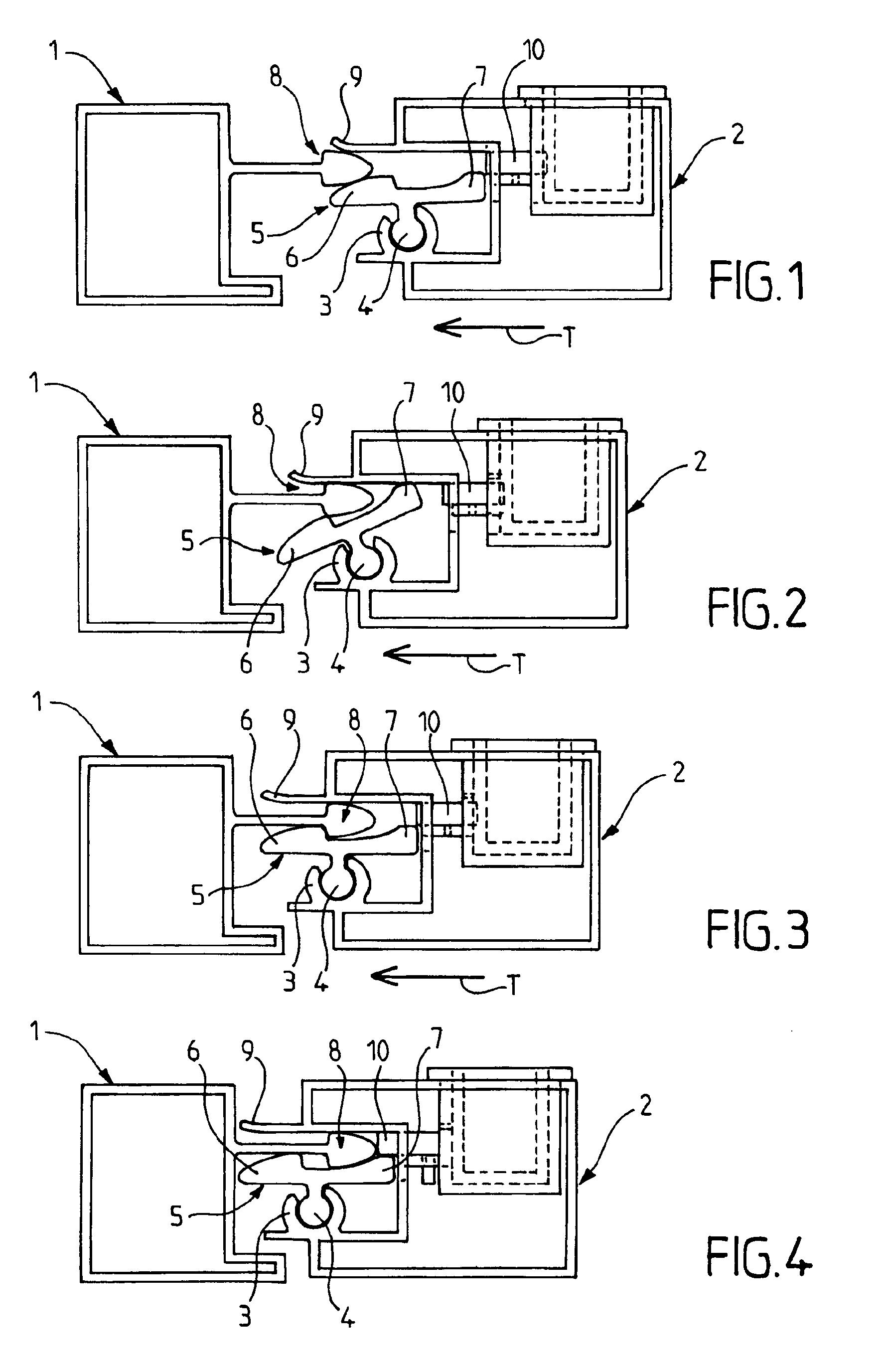 Patent ep1775403a2 dispositif de verrouillage pour for Bloque fenetre coulissante