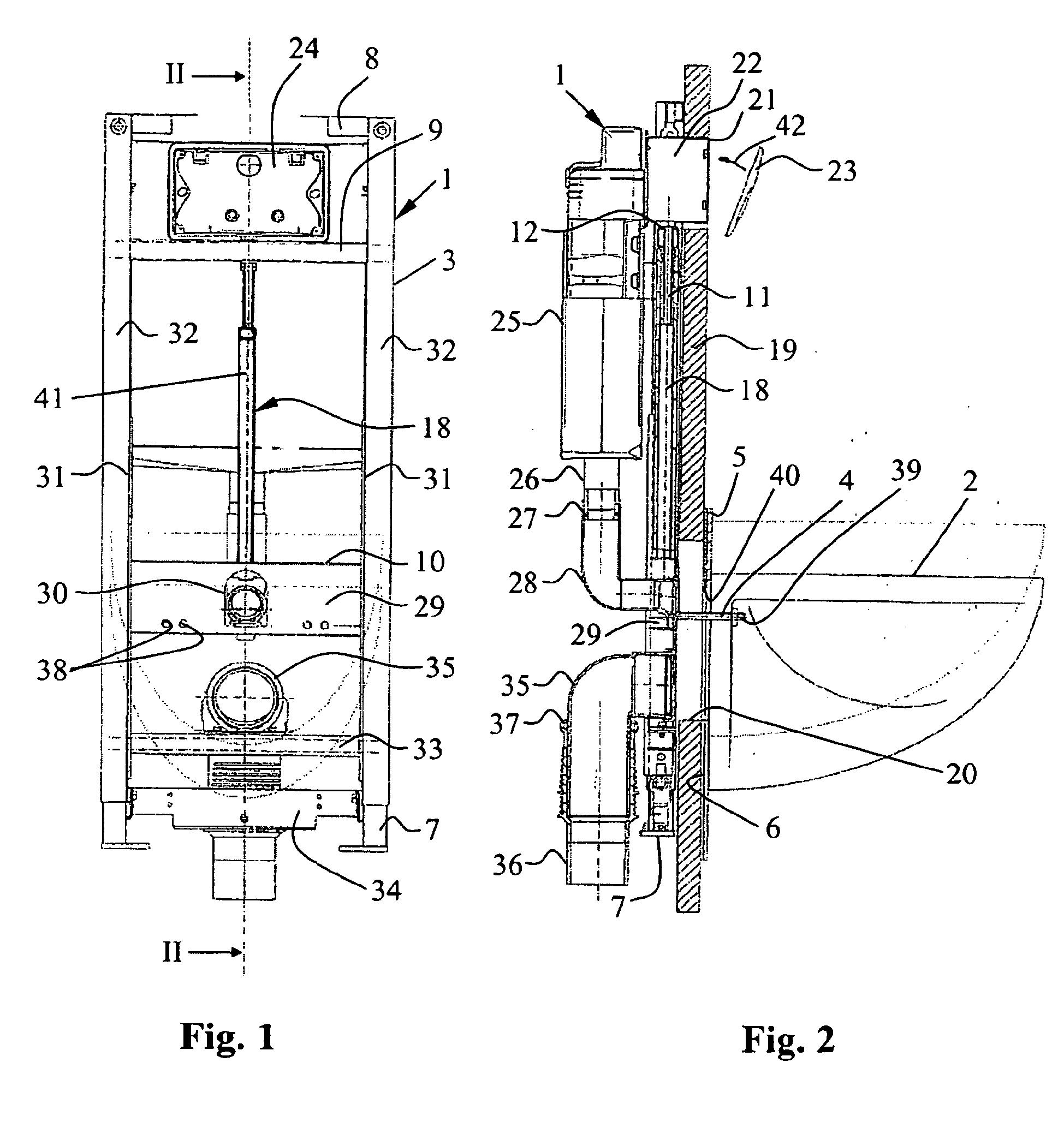 patent ep1785533b1 vorrichtung aus montagerahmen und h henverstellbarer wc sch ssel google. Black Bedroom Furniture Sets. Home Design Ideas