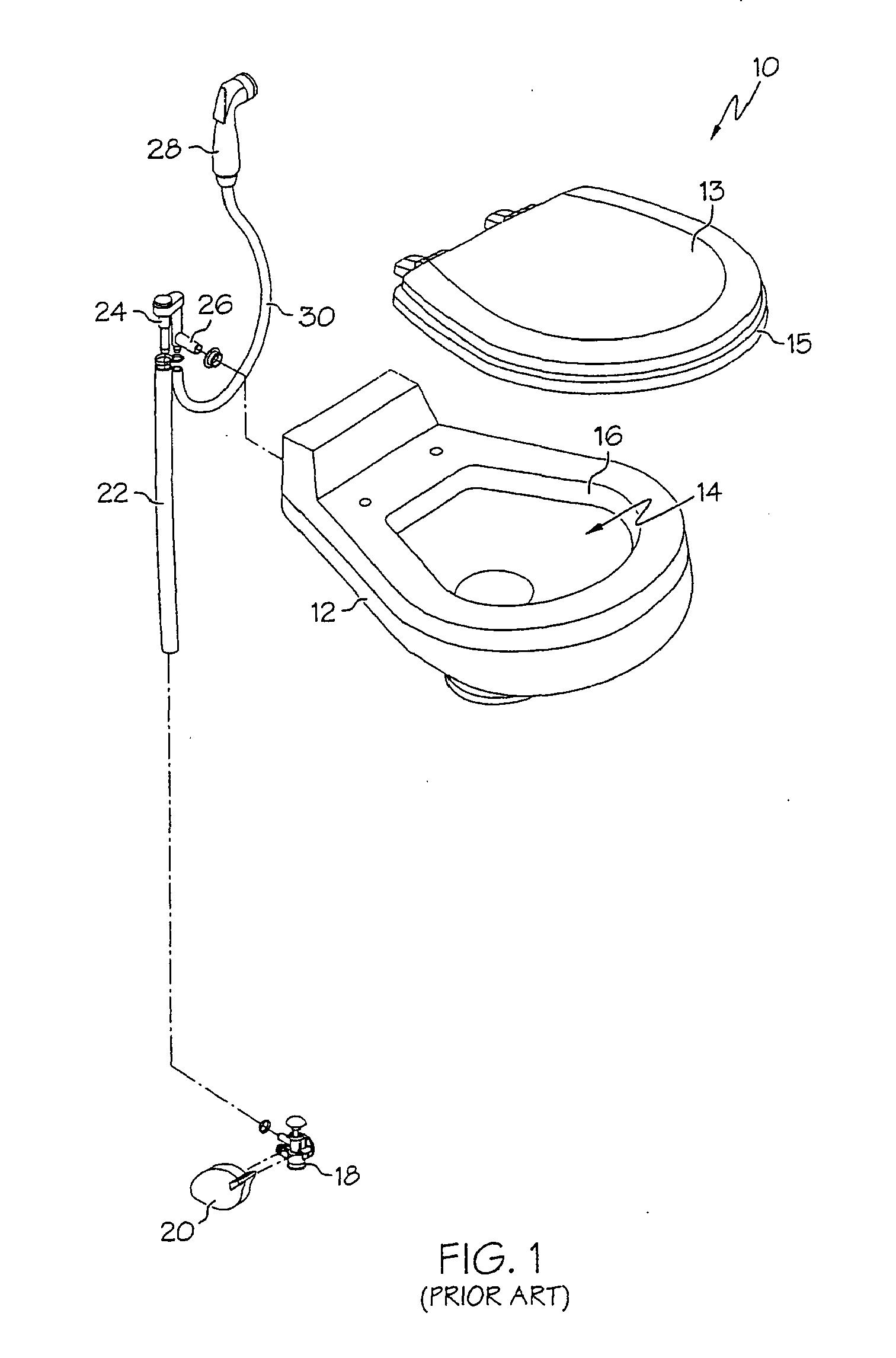 patent ep1790783a2 toilette mit sp lwasserverteiler. Black Bedroom Furniture Sets. Home Design Ideas