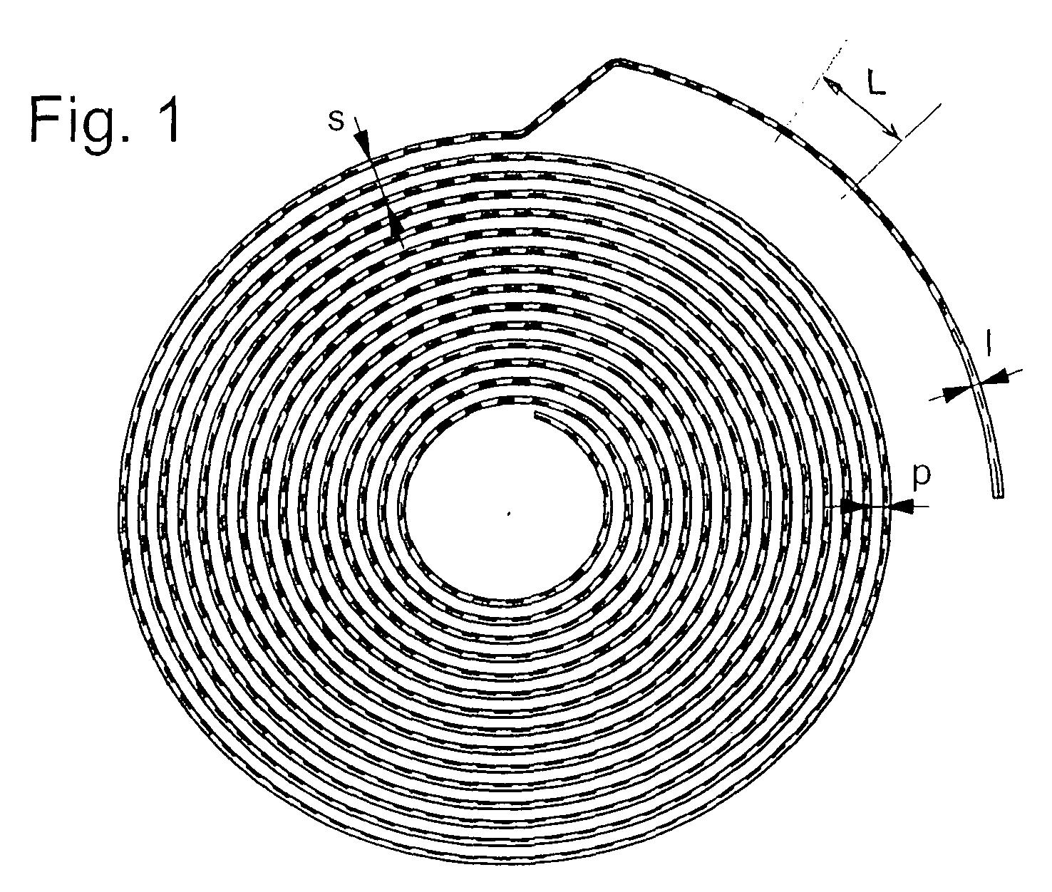 ep1791039a1 spiral en verre athermique pour mouvement d 39 horlogerie et son proc d de. Black Bedroom Furniture Sets. Home Design Ideas