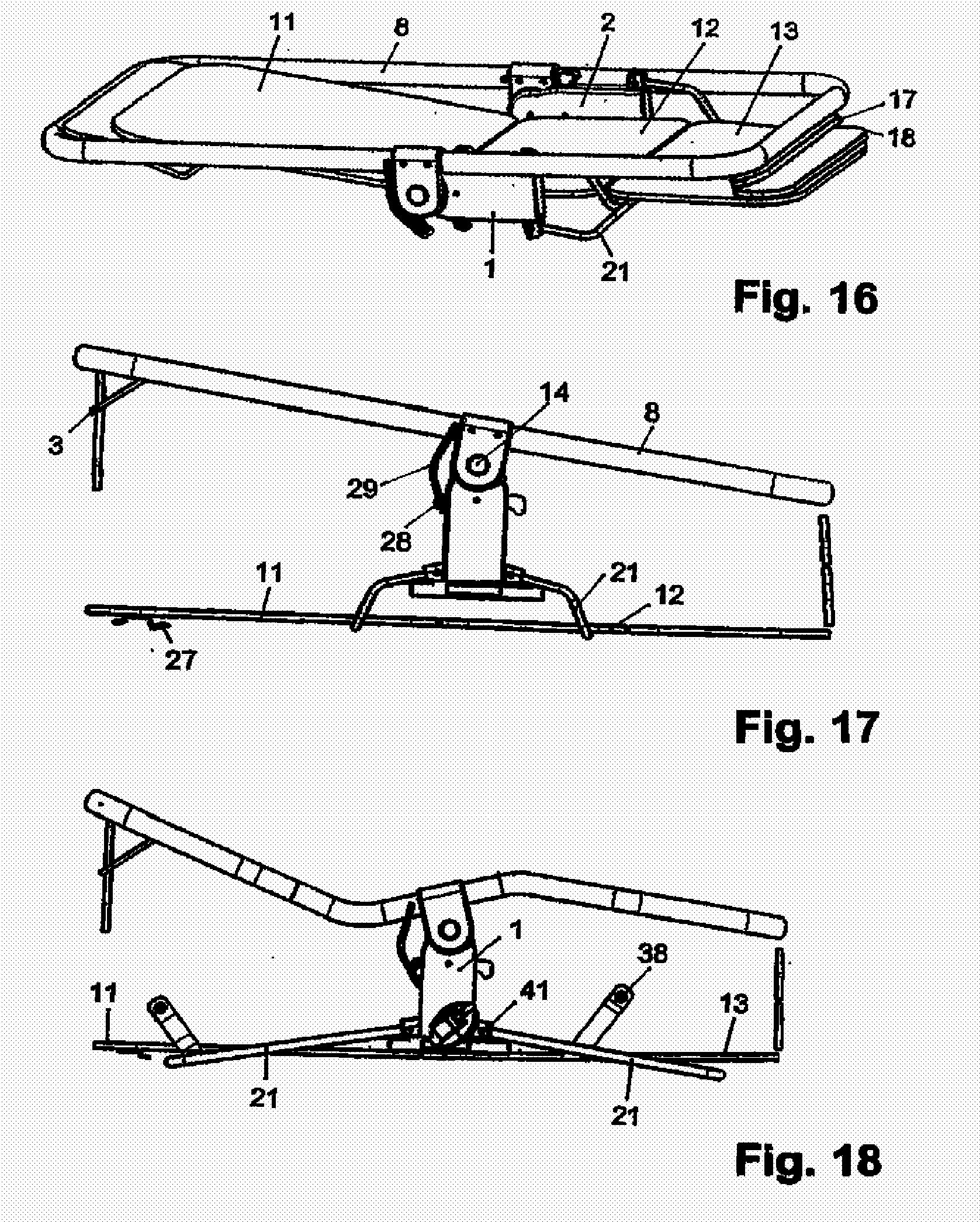 Patent ep1795424a2 umwandelbarer sitz liegeeinsatz f r for Biegesteifer rahmen