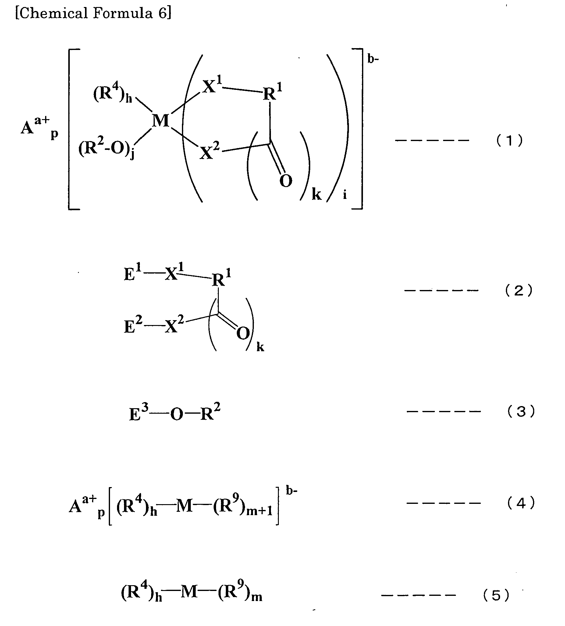 Patent ep1842853a1 method for synthesizing ionic complex wherein m represents a transition metal or an element of group 13 group 14 or group 15 of the periodic table aa represents a metal ion hydrogen ion gamestrikefo Image collections