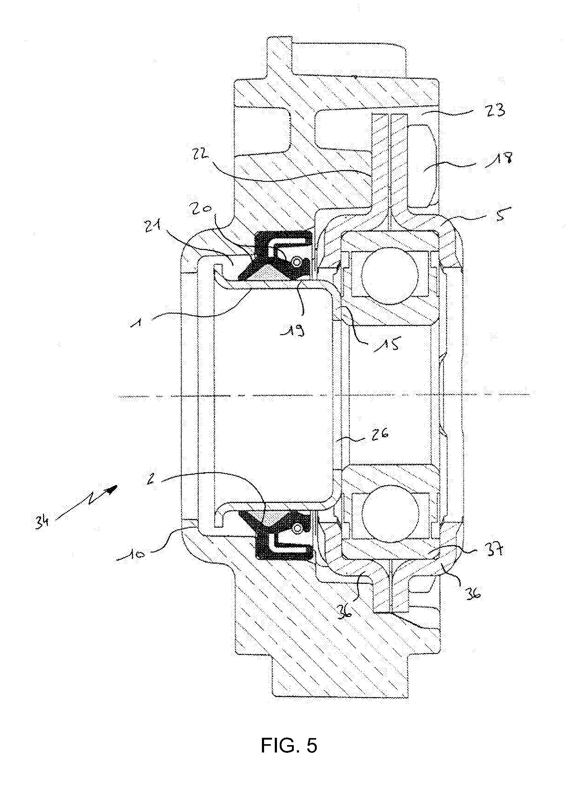 patent ep1842950a1 dispositif de palier pour une machine. Black Bedroom Furniture Sets. Home Design Ideas