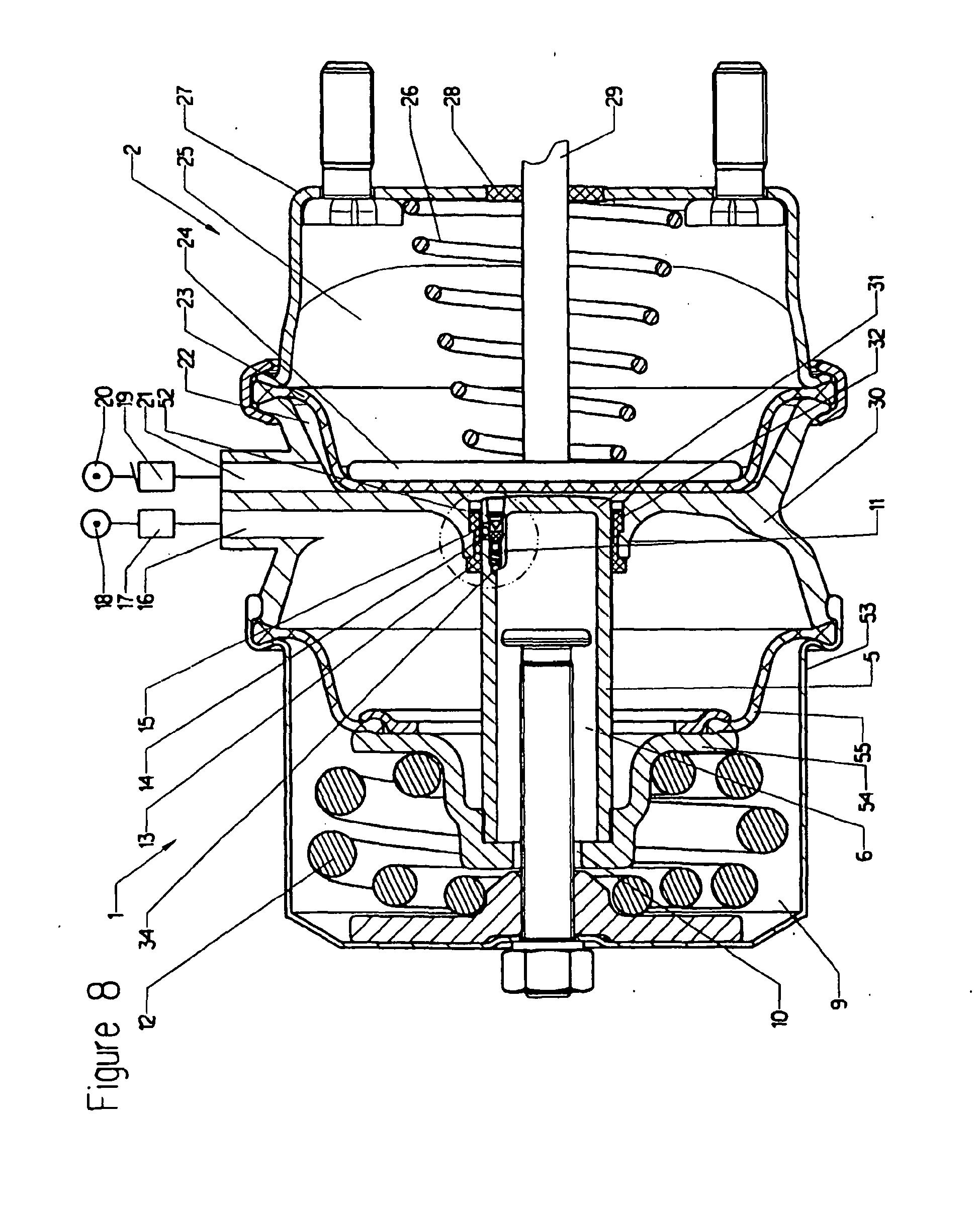 patent ep1851098b9 kombinierter federspeicher und betriebsbremszylinder mit einer. Black Bedroom Furniture Sets. Home Design Ideas