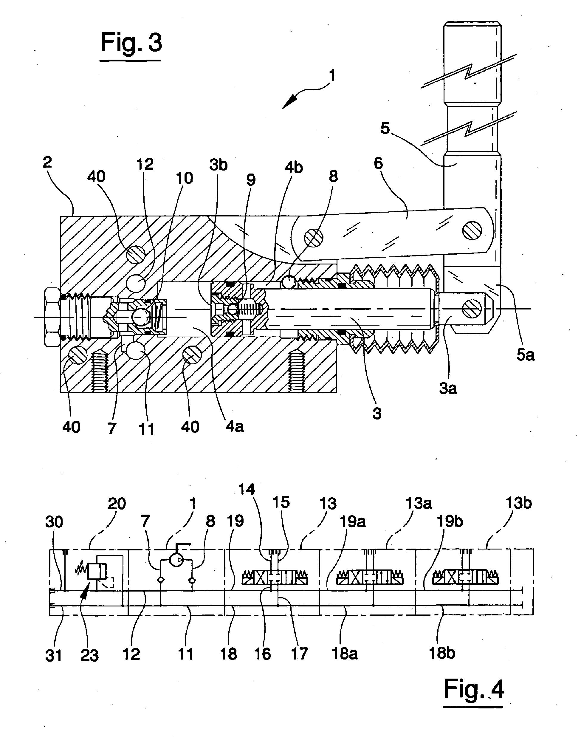 working diagram of hydraulic hand pump