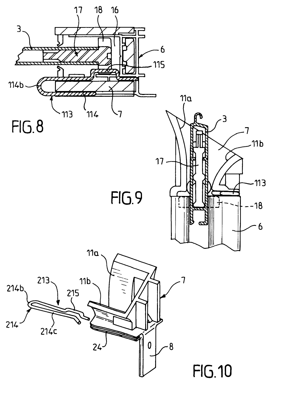 patent ep1882806a1 tulipe de volet roulant et installation de volet roulant comportant une. Black Bedroom Furniture Sets. Home Design Ideas