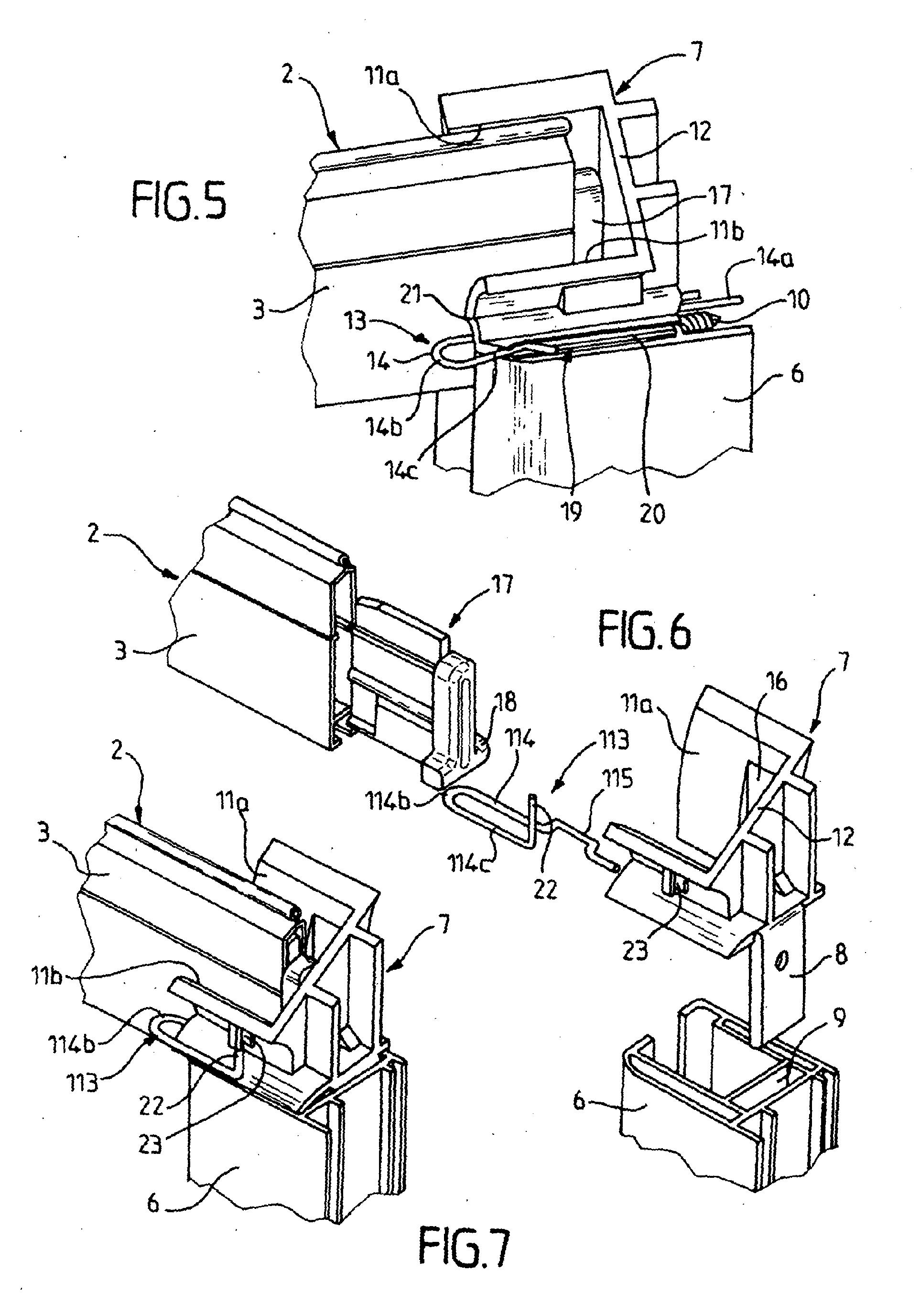 patent ep1882806b1 tulipe de volet roulant et installation de volet roulant comportant une. Black Bedroom Furniture Sets. Home Design Ideas