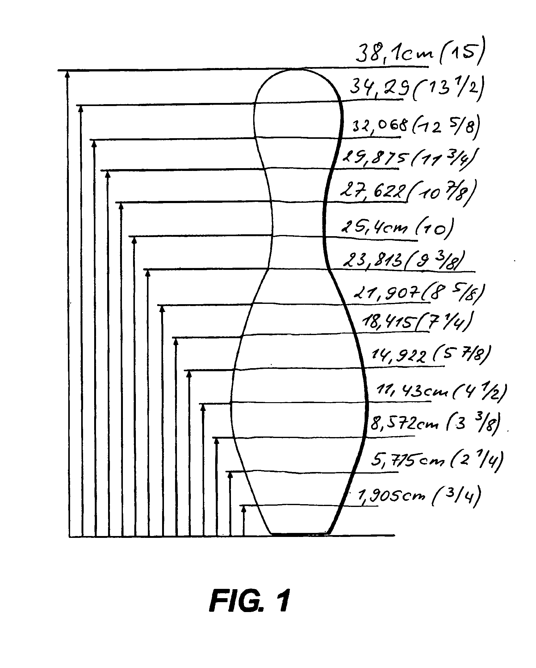 Patent Ep1913985b1 Bowling Pin And Method Of Manufacture