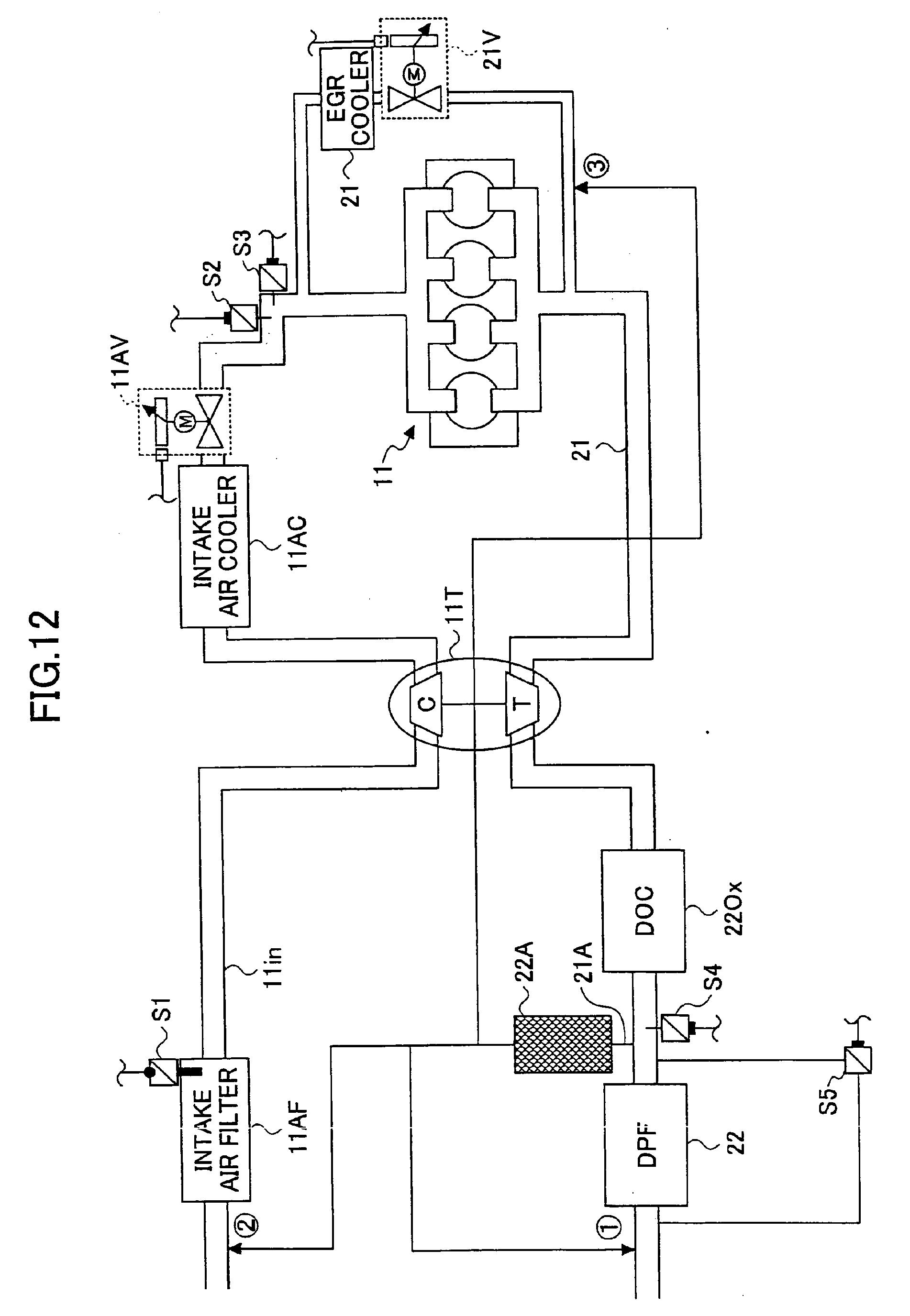 专利ep1921289a1 - exhaust