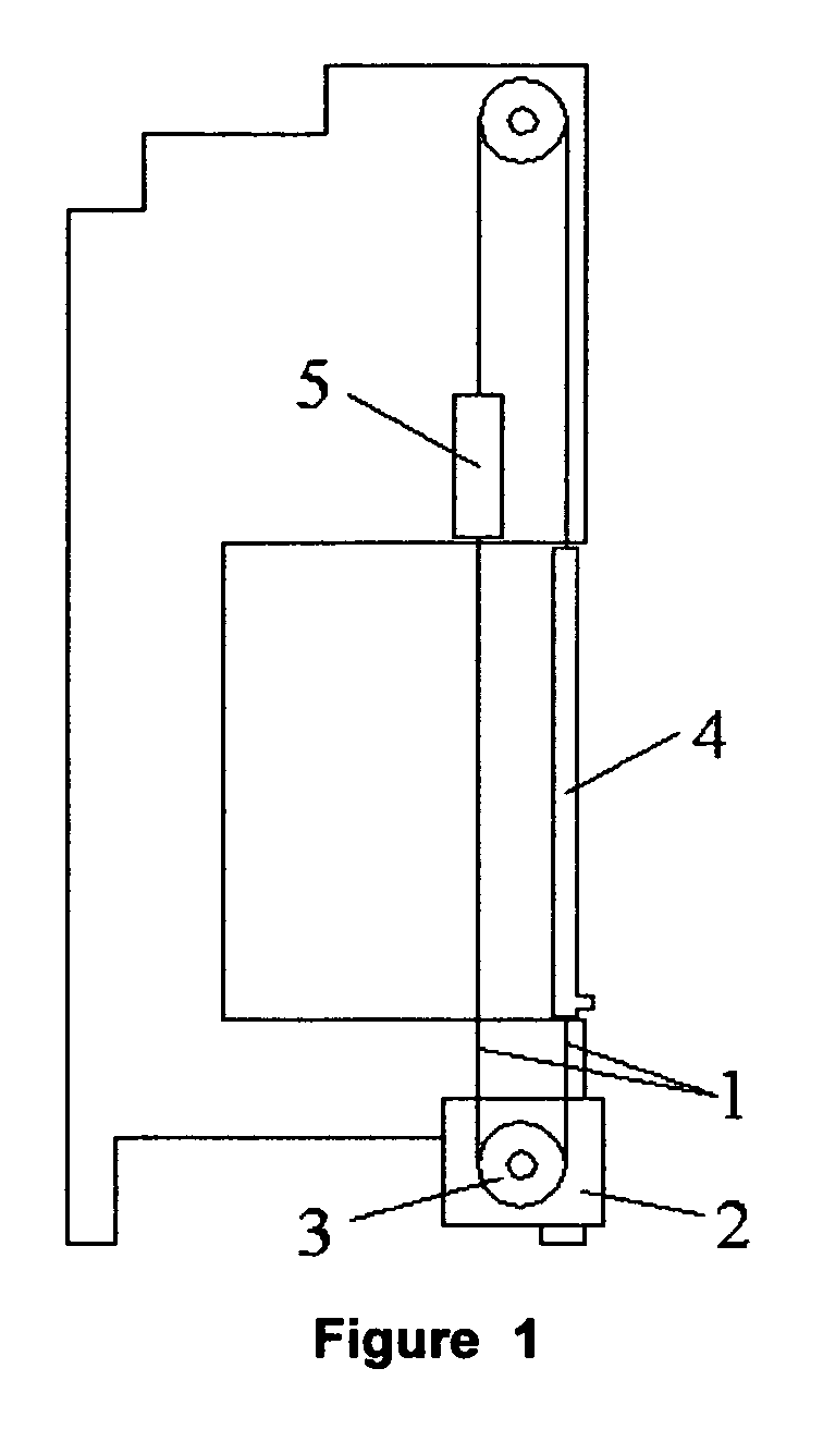 Patent ep1959084a2 electrically operated mechanism for for Sliding door mechanism