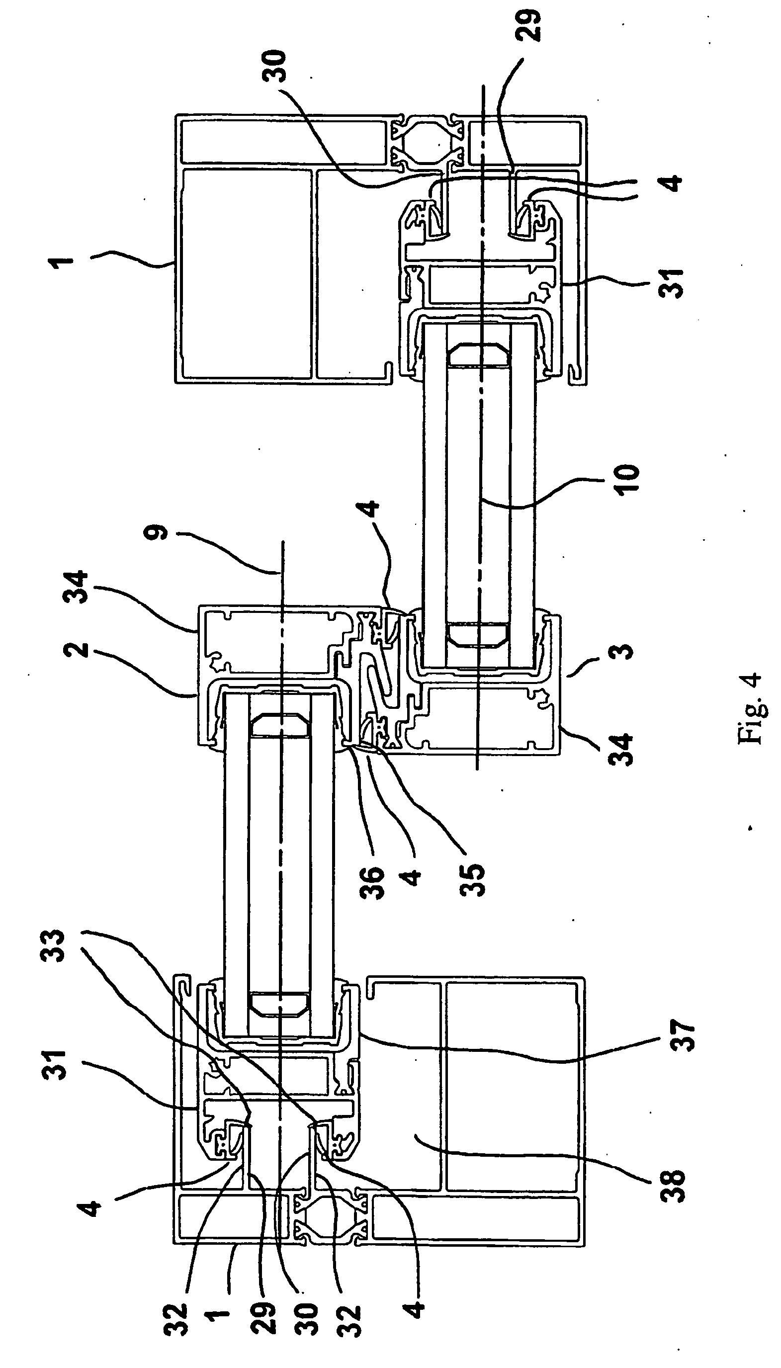 Patent Ep1965012b1 Ch Ssis De Porte Ou Fen Tre Coulissante Comportant Des Moyens D 39 Tanch It