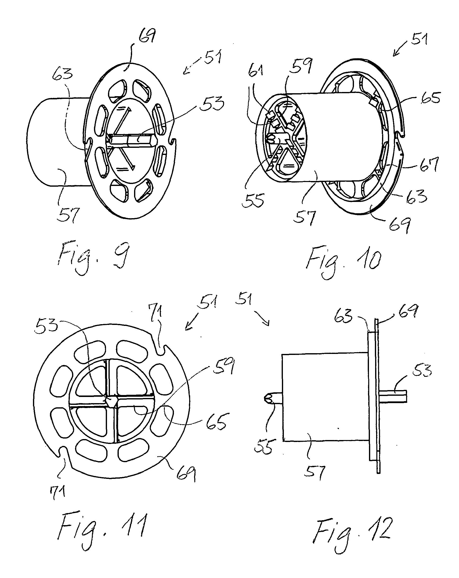 patent ep1983628a2 elektro leerdose und verfahren zum anordnen einer elektro leerdose in einer. Black Bedroom Furniture Sets. Home Design Ideas