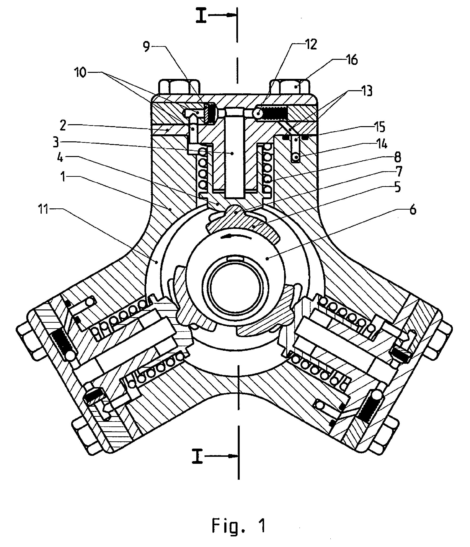 Pompe à piston radiaux