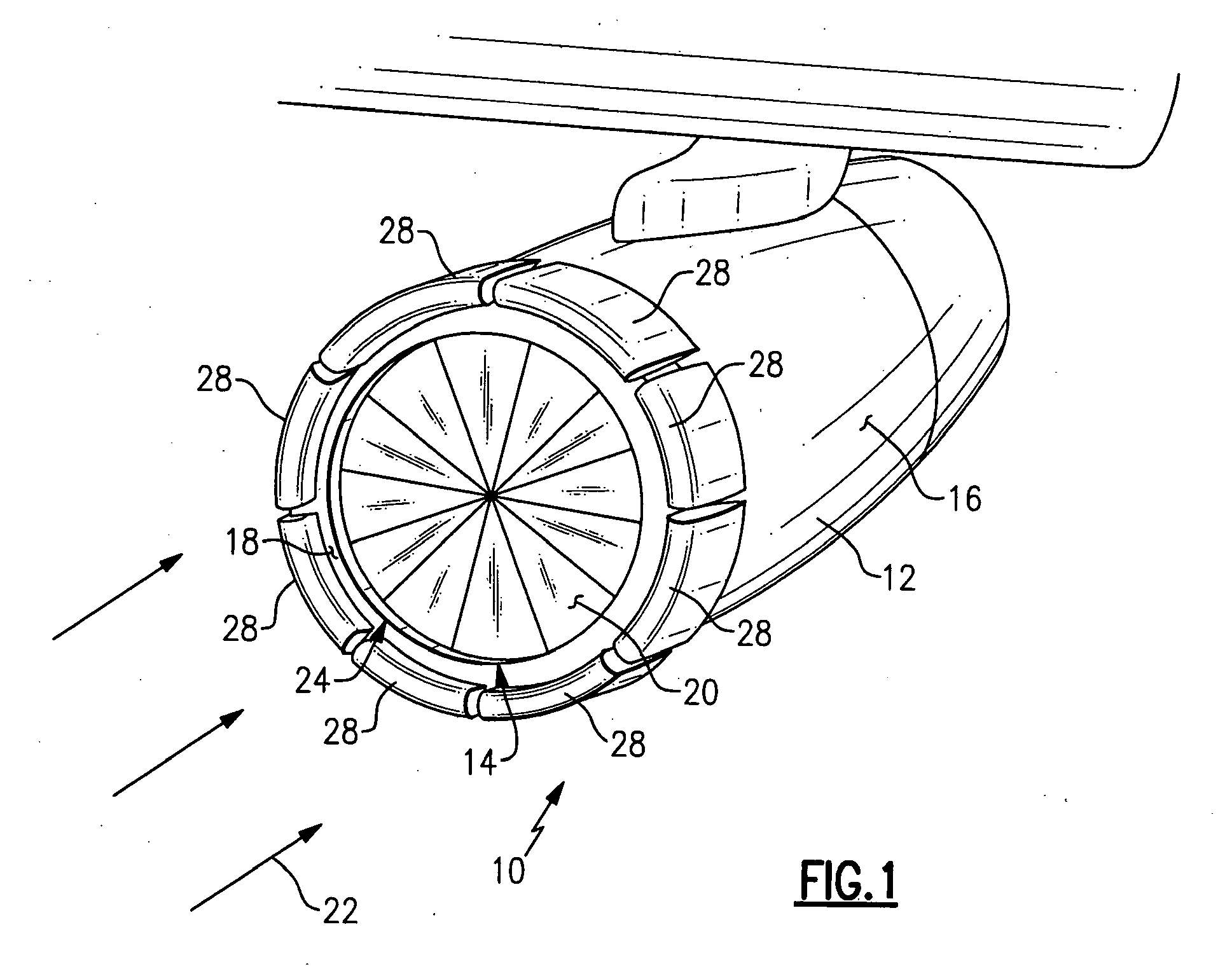 Patent EP2003310A2 - Variable geometry nacelle for an aircraft engine - Google Patents