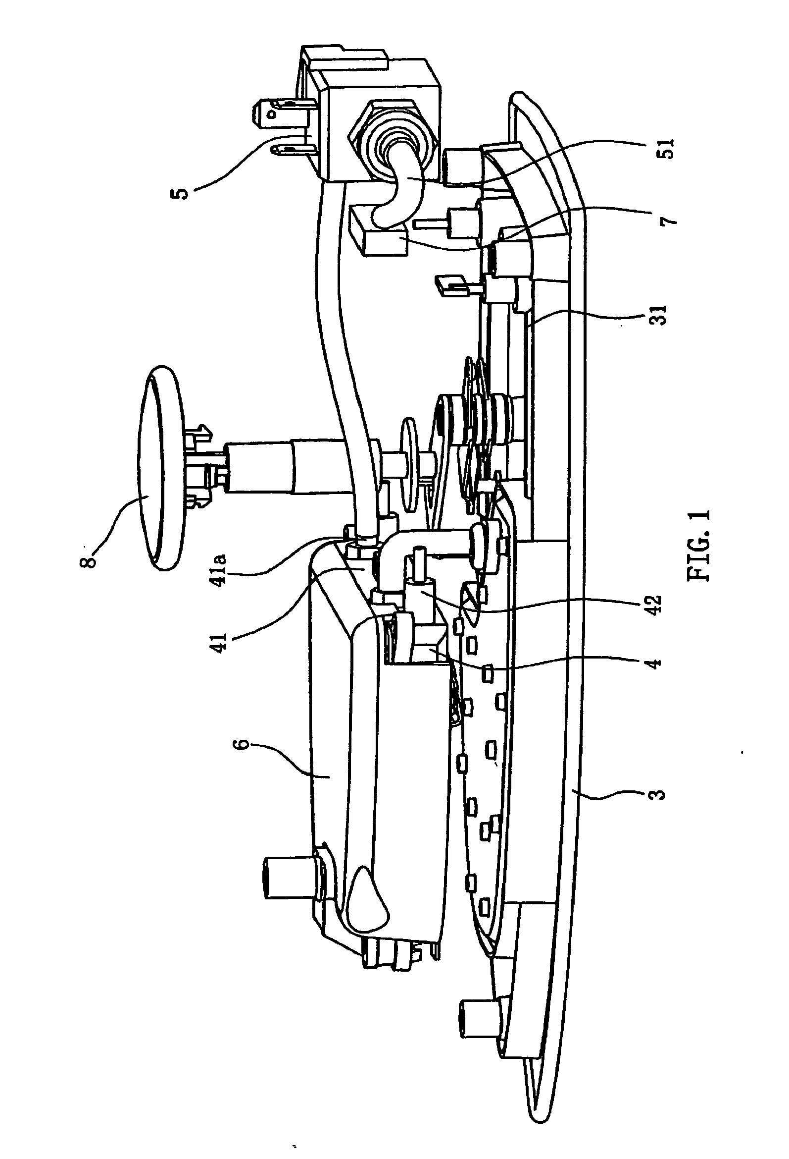 patent ep2009172a2 - an electric steam iron