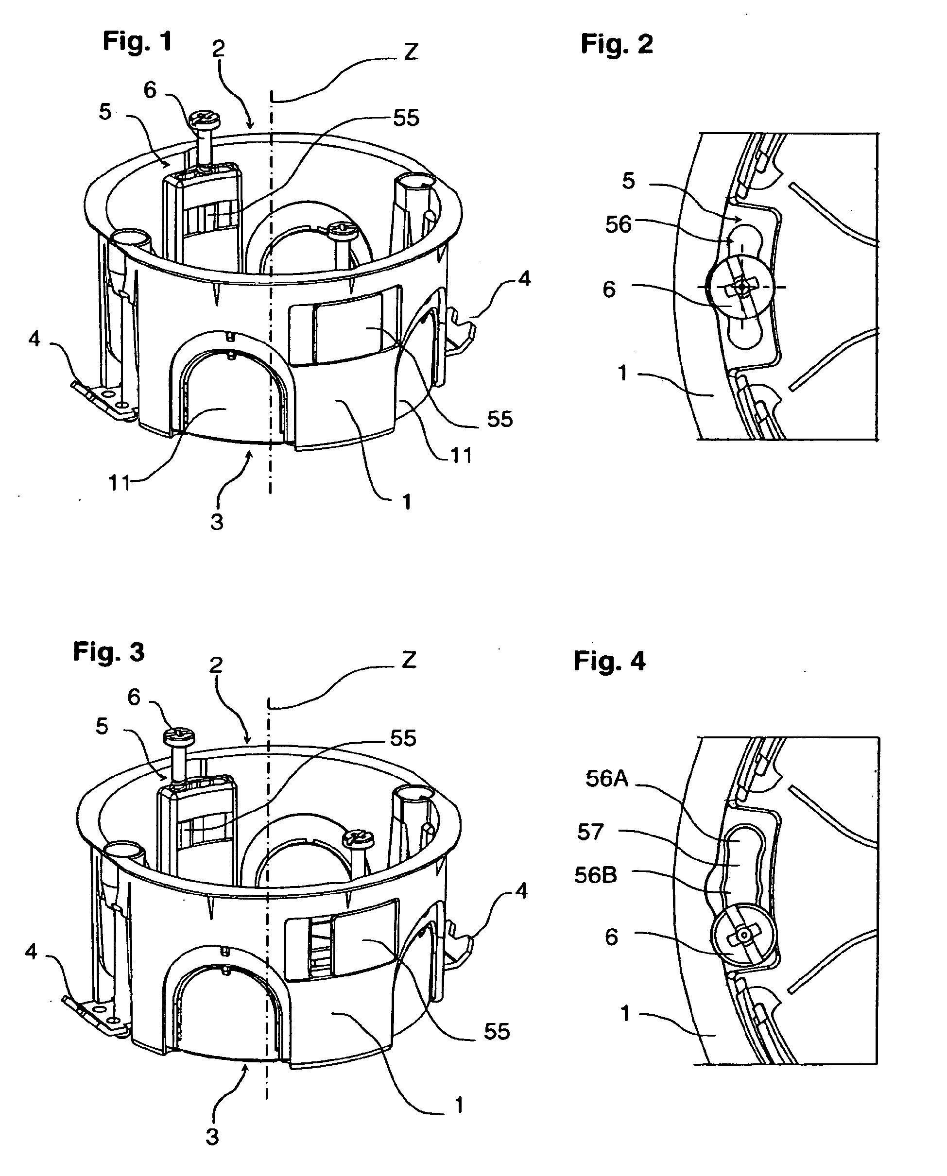 Patent ep2015418b1 bo tier lectrique encastrable - Boitier electrique encastrable ...