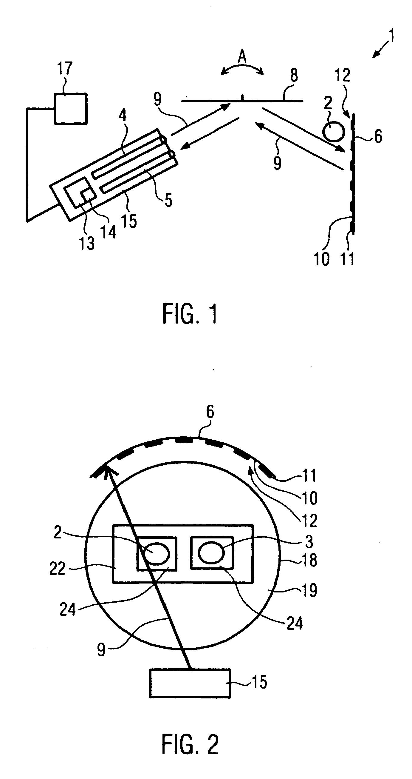 patent ep2018581b1 vorrichtung und verfahren zum erkennen von objekten google patents. Black Bedroom Furniture Sets. Home Design Ideas