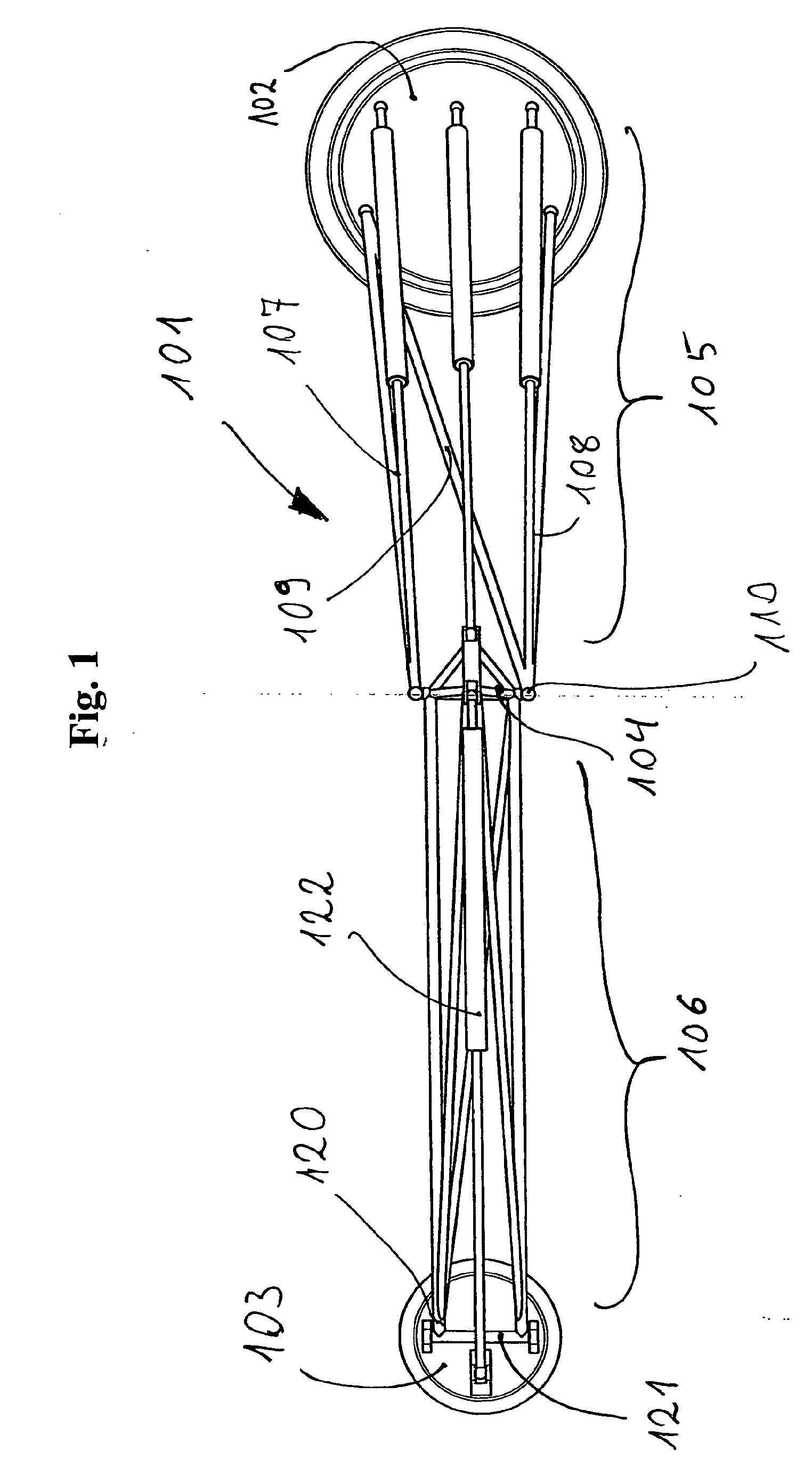 Articulated Arm Lifting Devices : Patent ep a articulated arm for robots lifting