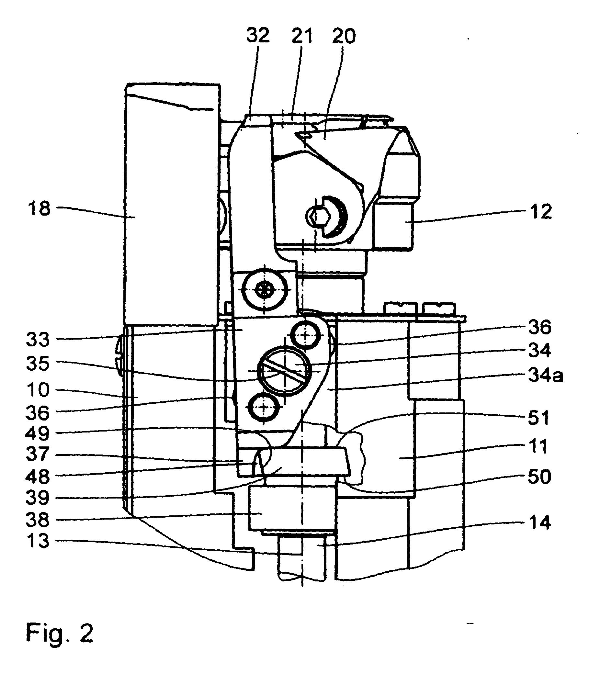 Patent EP2050852B1  Nähmaschine und GreiferSystem für  -> Nähmaschine Greifer
