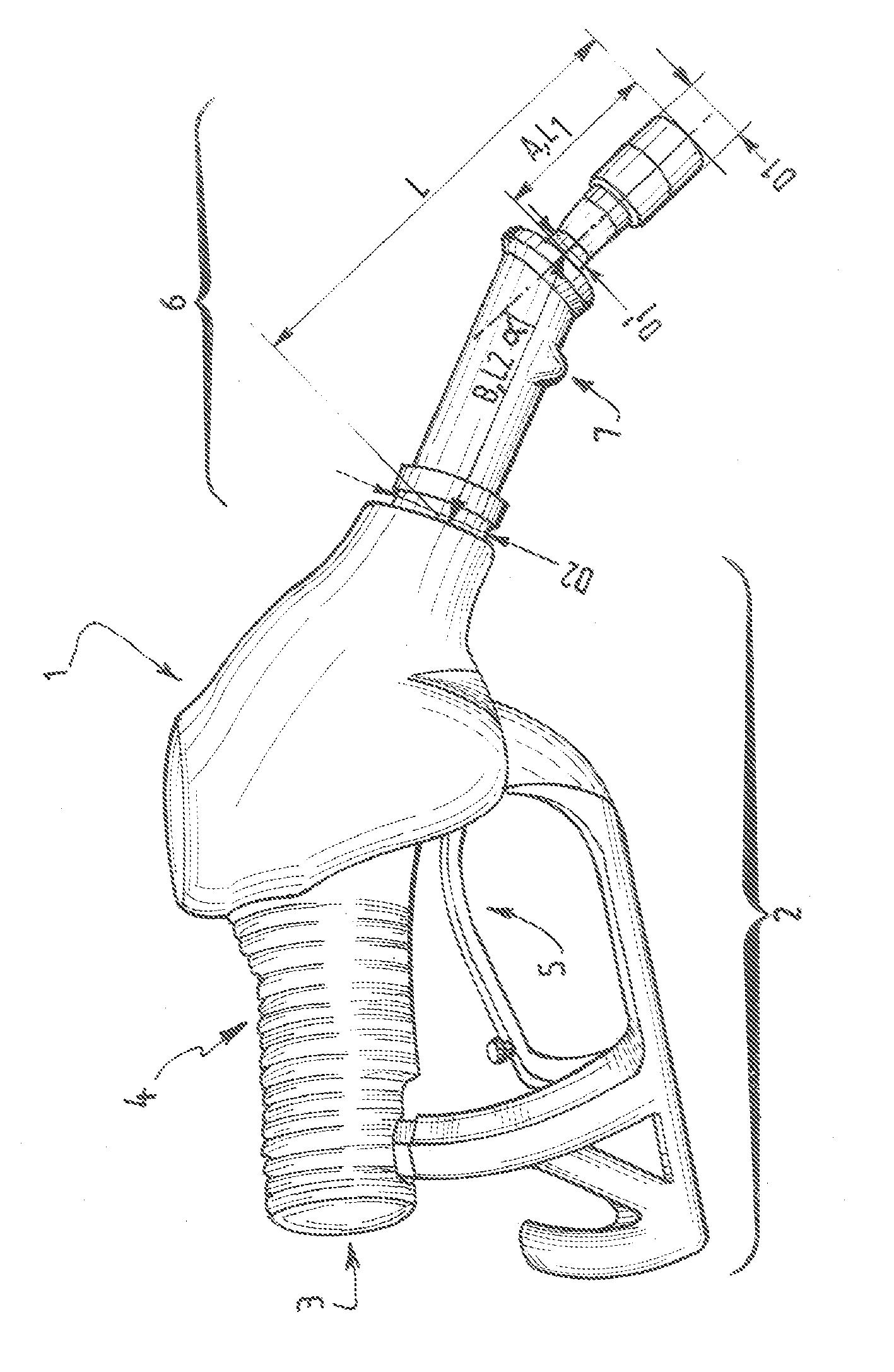 Patent ep2075219a1 pistolet pour la distribution de - Pistolet a essence ...