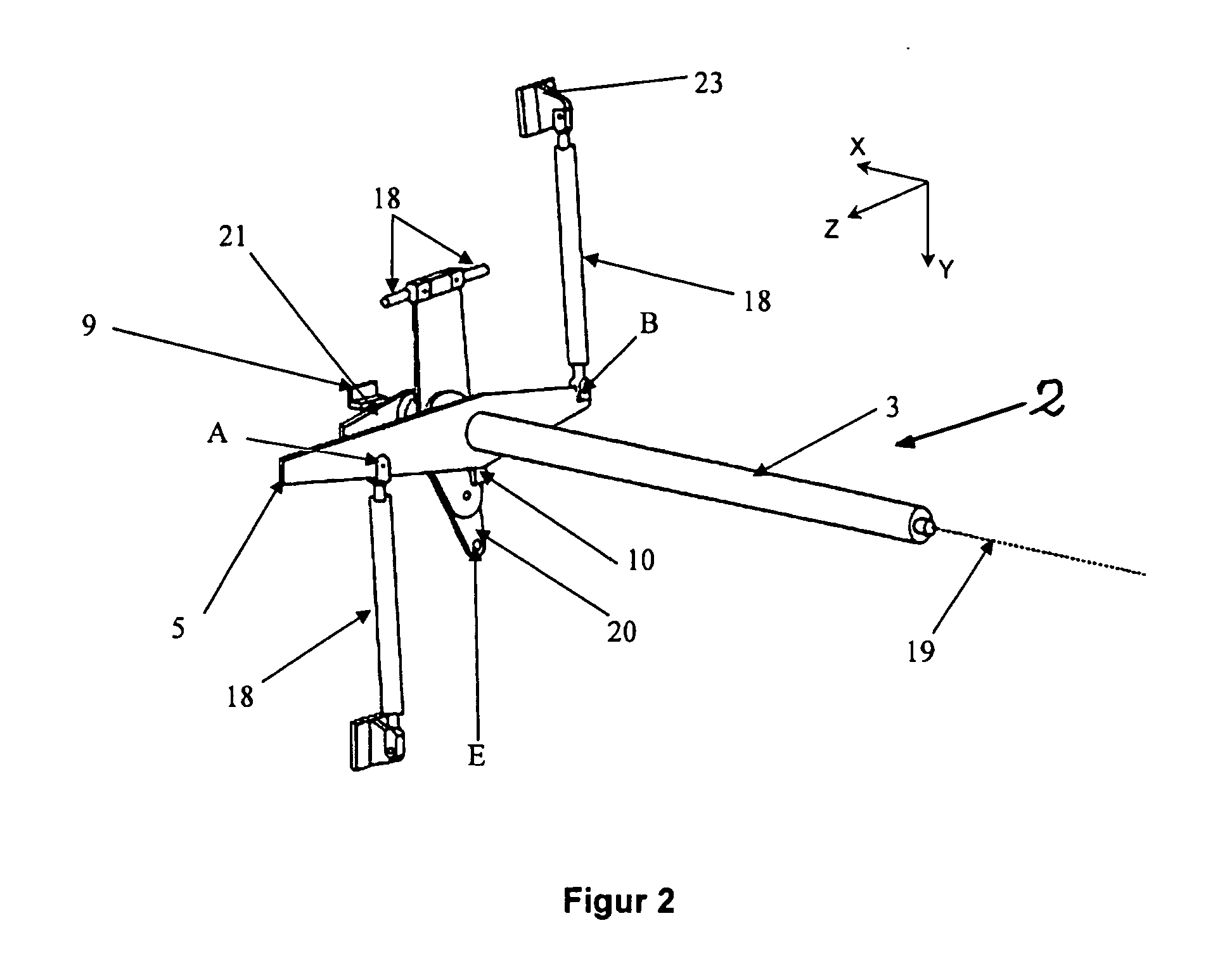 Patent EP B1 Vertical axis wind turbine with control