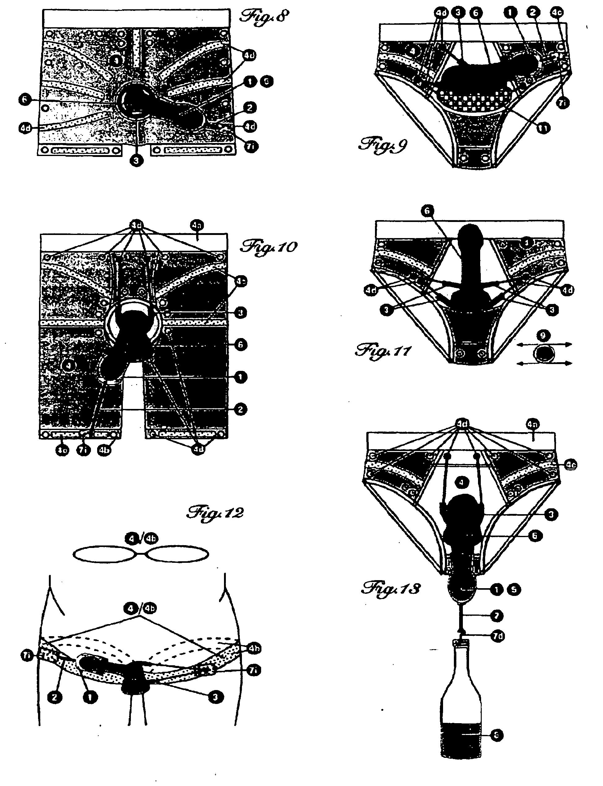 Patent EP2099396B1 - Kleidungs-integriertes