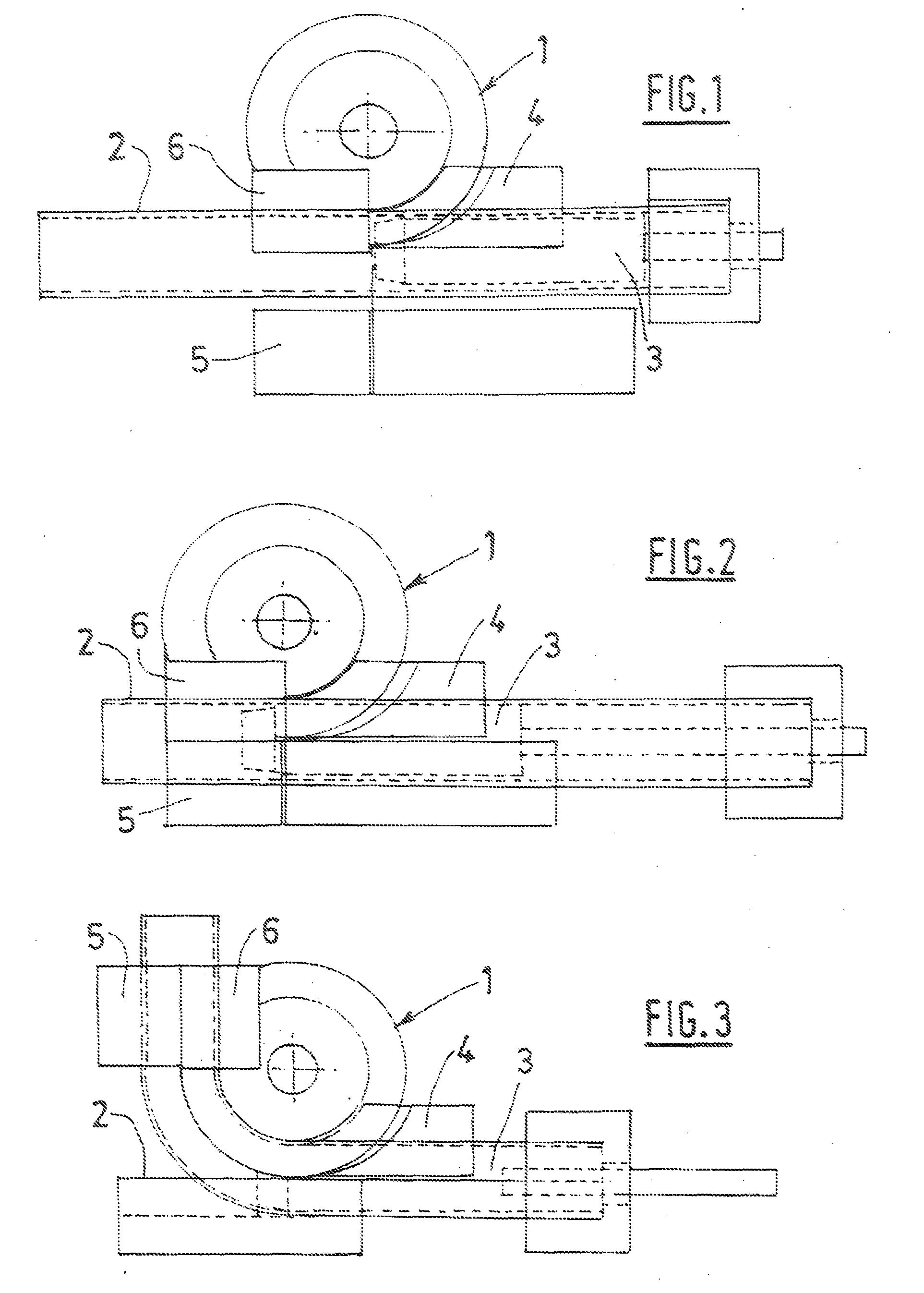 patent ep2106306b1 dispositif pour cintrer un tube. Black Bedroom Furniture Sets. Home Design Ideas