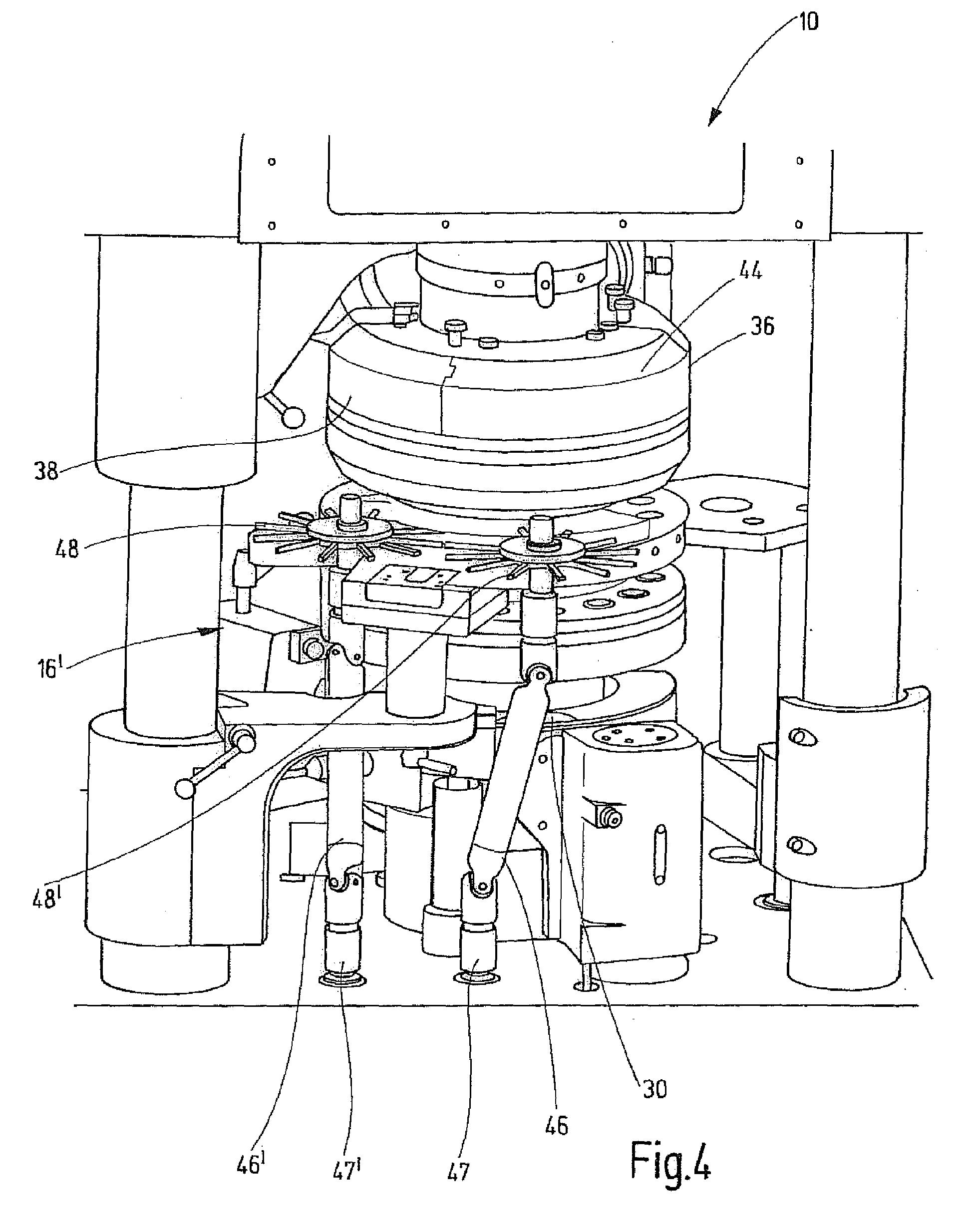 patent ep2110231a2 rundl ufer tablettenpresse google. Black Bedroom Furniture Sets. Home Design Ideas