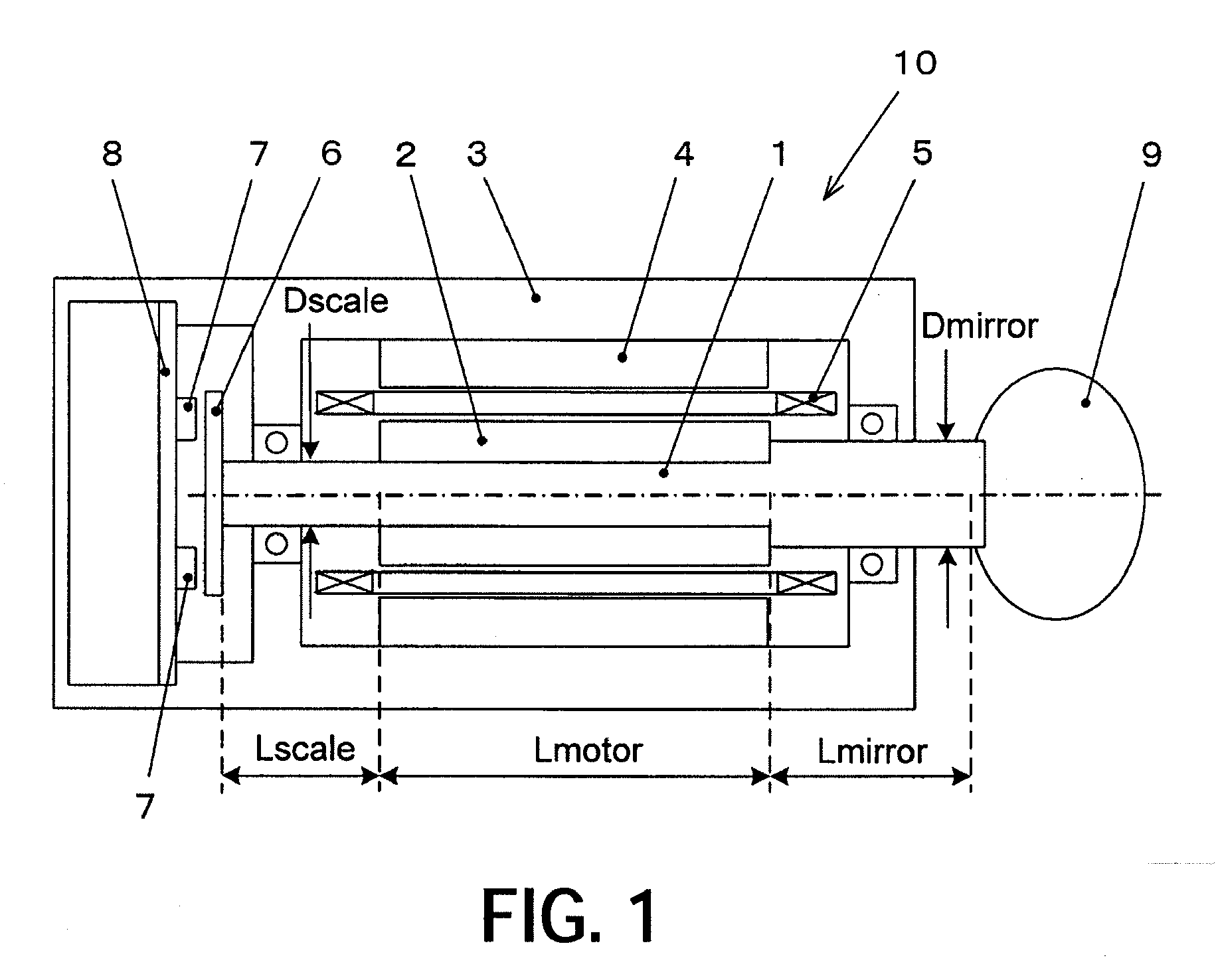 Patent Ep2112546a2 Galvano Motor And Galvano Motor