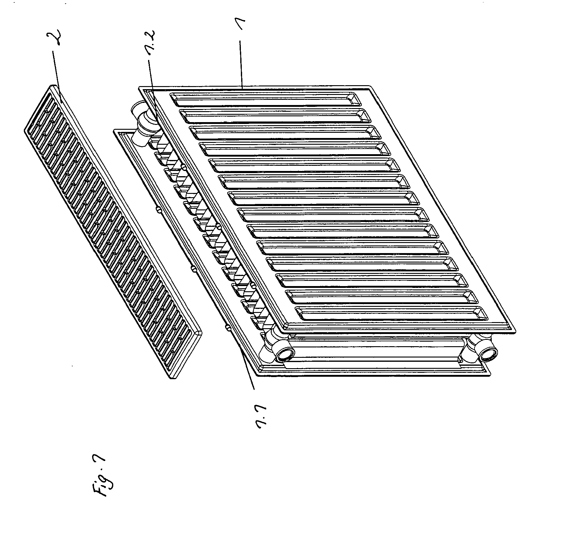 patent ep2119973a2 verfahren zur herstellung eines heizk rpers mit einer heizk rperabdeckung. Black Bedroom Furniture Sets. Home Design Ideas