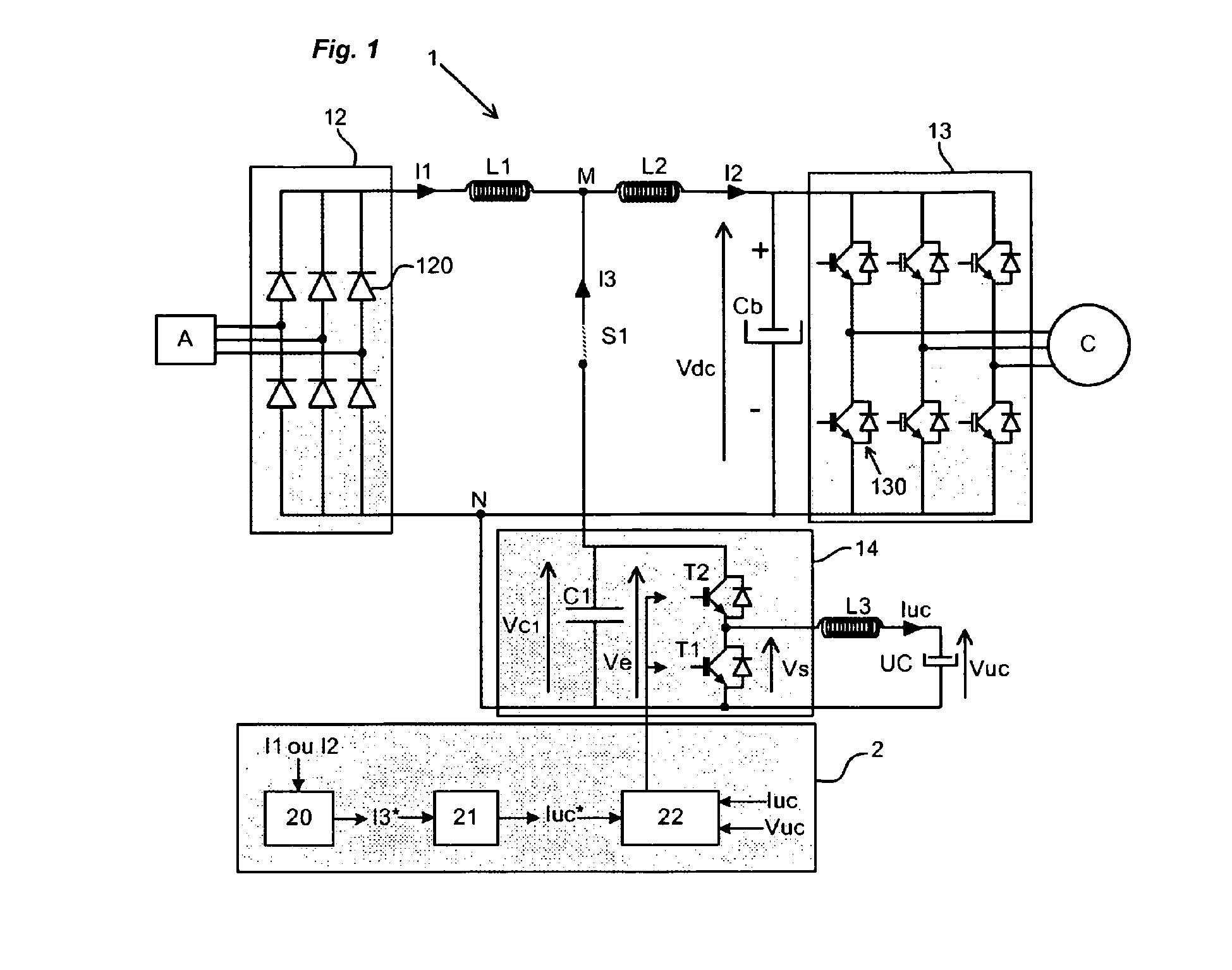 patent ep2131483b1 - variateur de vitesse avec super-condensateur