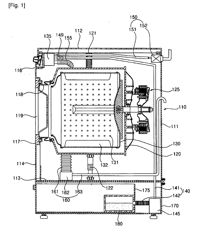 patent ep2132368b1 - washing machine