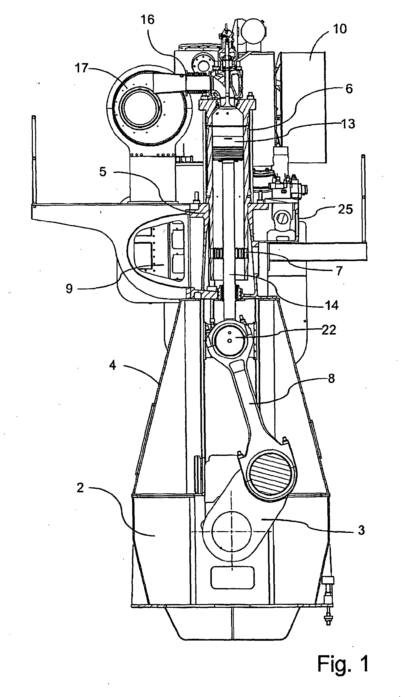 patent ep2138703b1 large uniflow two stroke diesel engine of the crosshead type patents