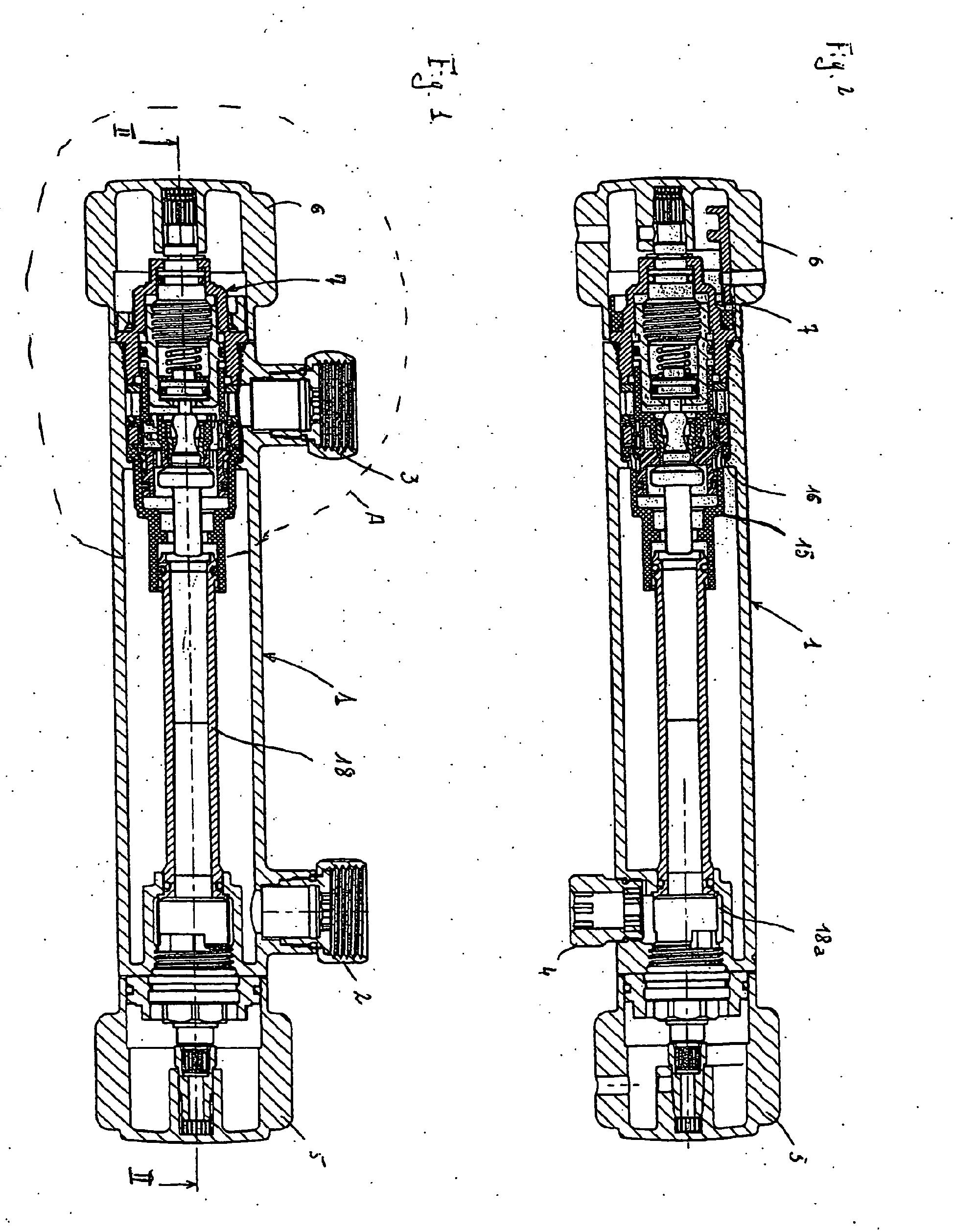 Coupe d 39 un robinet thermostatique - Fonctionnement d un robinet thermostatique ...