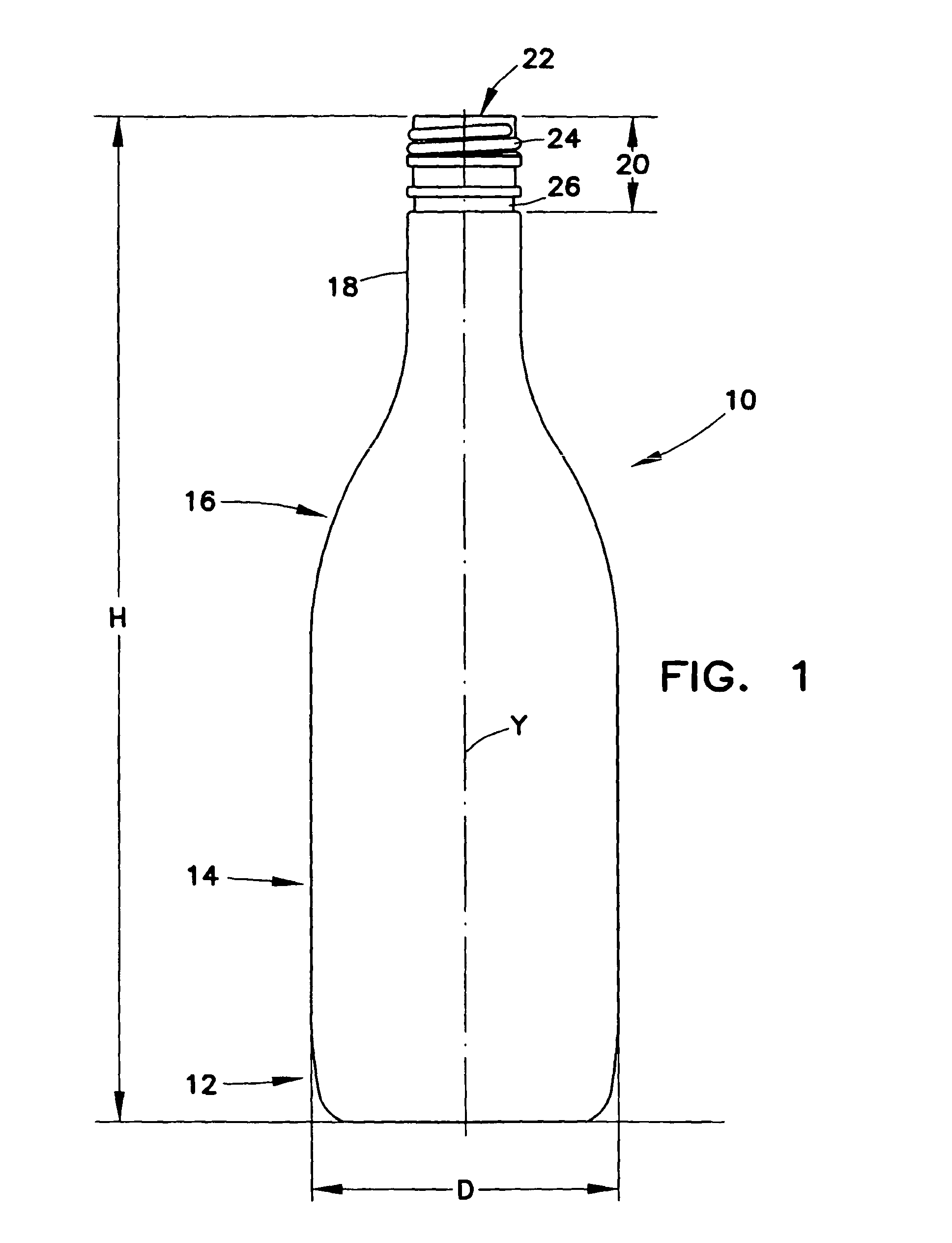 Dimensions Standard Glass Bottle Cap