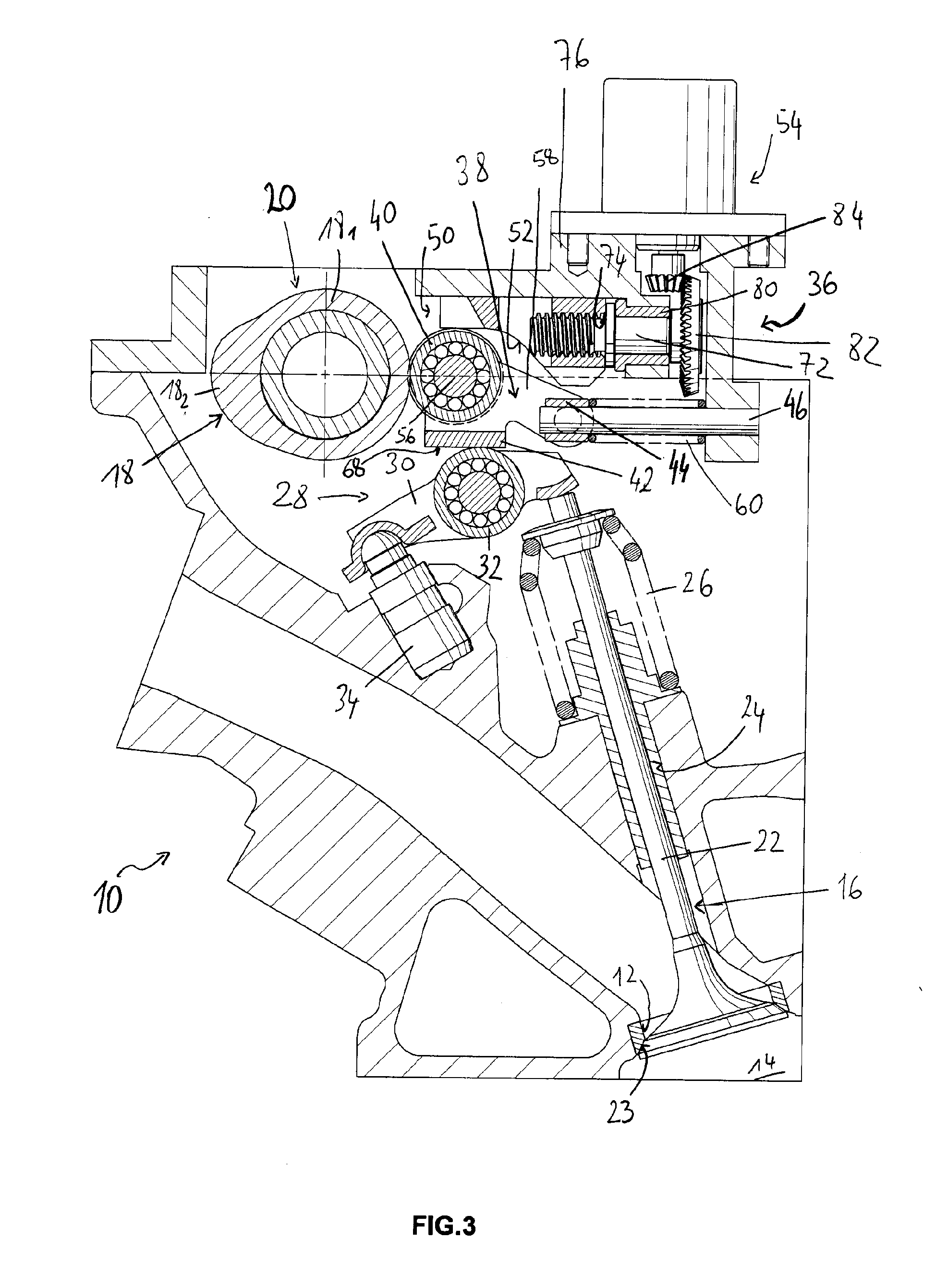 Combustion Engine Lever : Patent ep a valve gear assembly for an internal