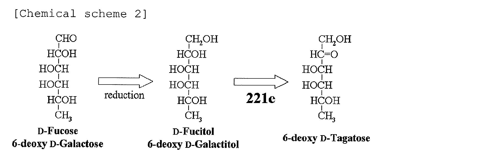 D Galactopyranose Patent EP2161332A1