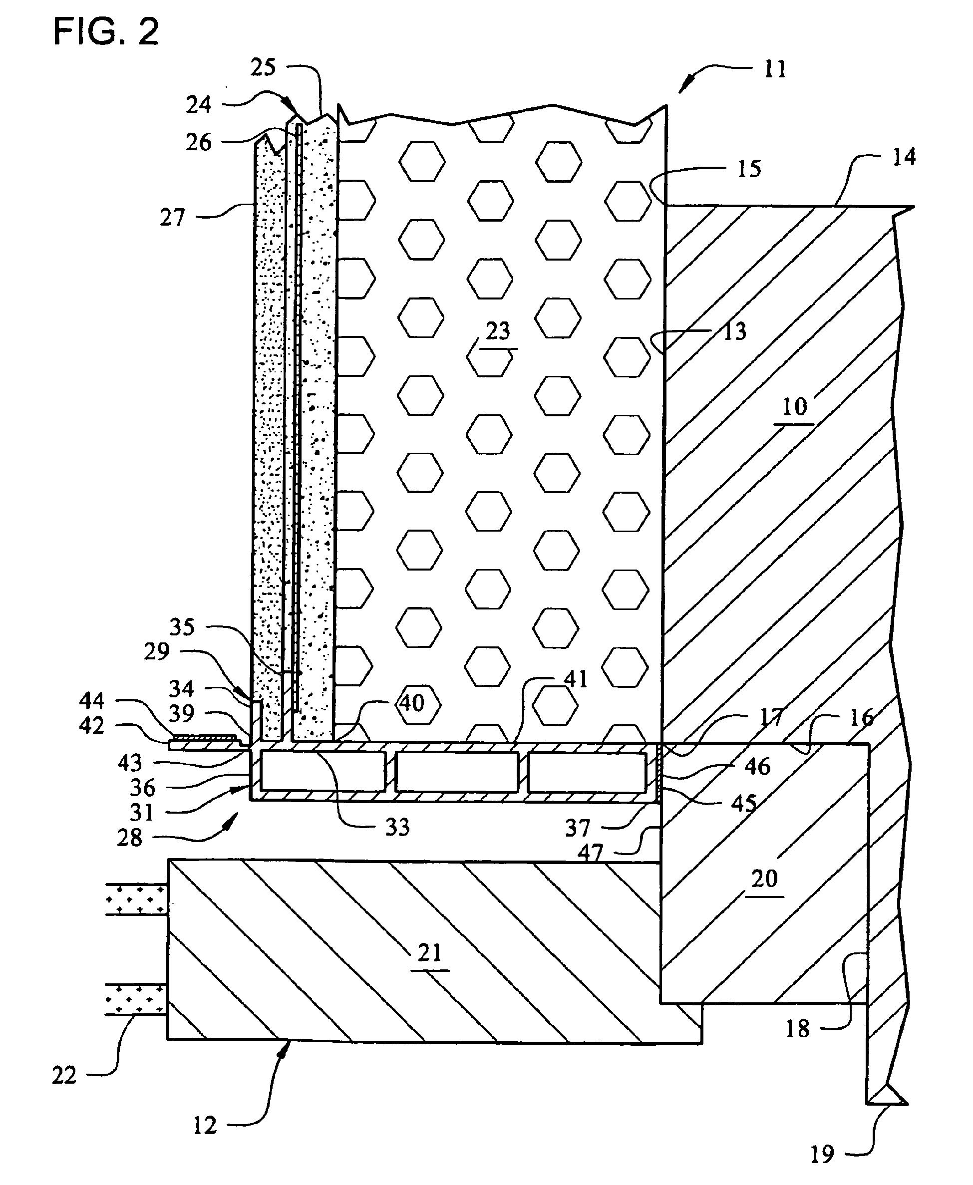 patent ep2171175b1 putzanschlussleiste f r die laibung von fenstern und t ren google patents. Black Bedroom Furniture Sets. Home Design Ideas