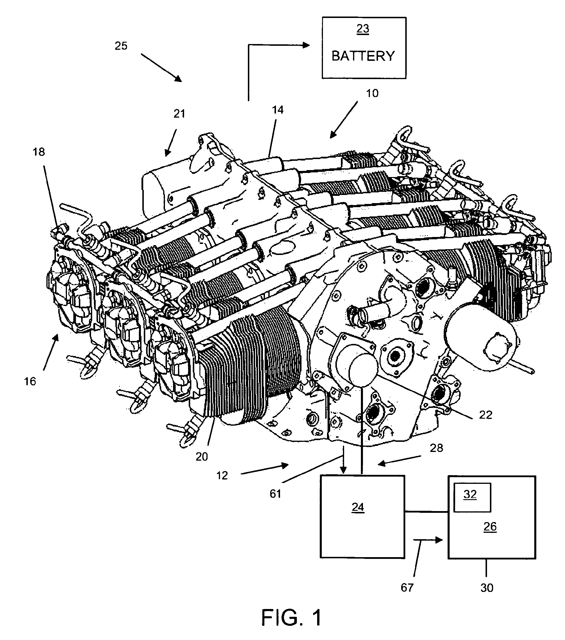 Patente EP2185415B1 Power source for an aircraft engine – Lycoming Aircraft Engine Diagram