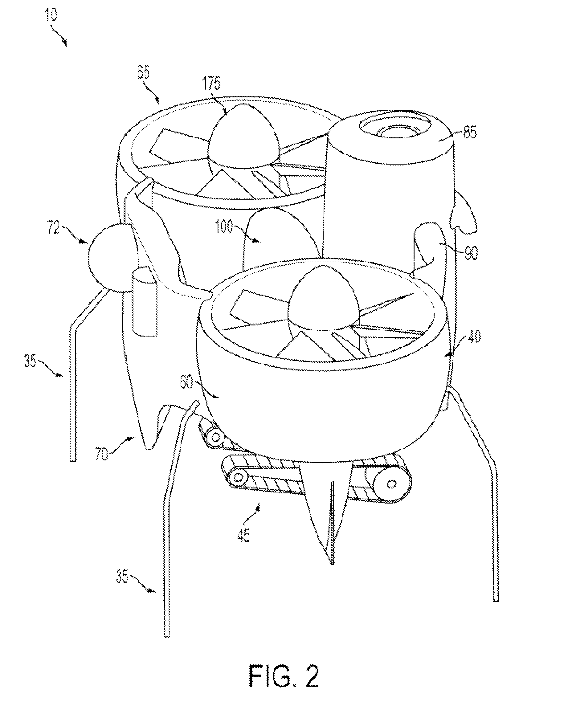 patent ep2213570a2 - transforming unmanned aerial-to-ground vehicle