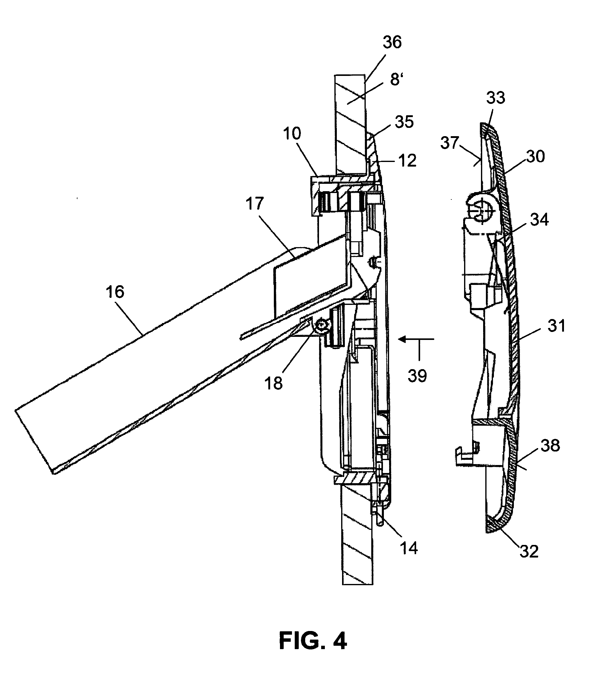 patent ep2226437a1 sp lkasten und verfahren zum zuf hren eines zusatzmittels bei einem solchen. Black Bedroom Furniture Sets. Home Design Ideas