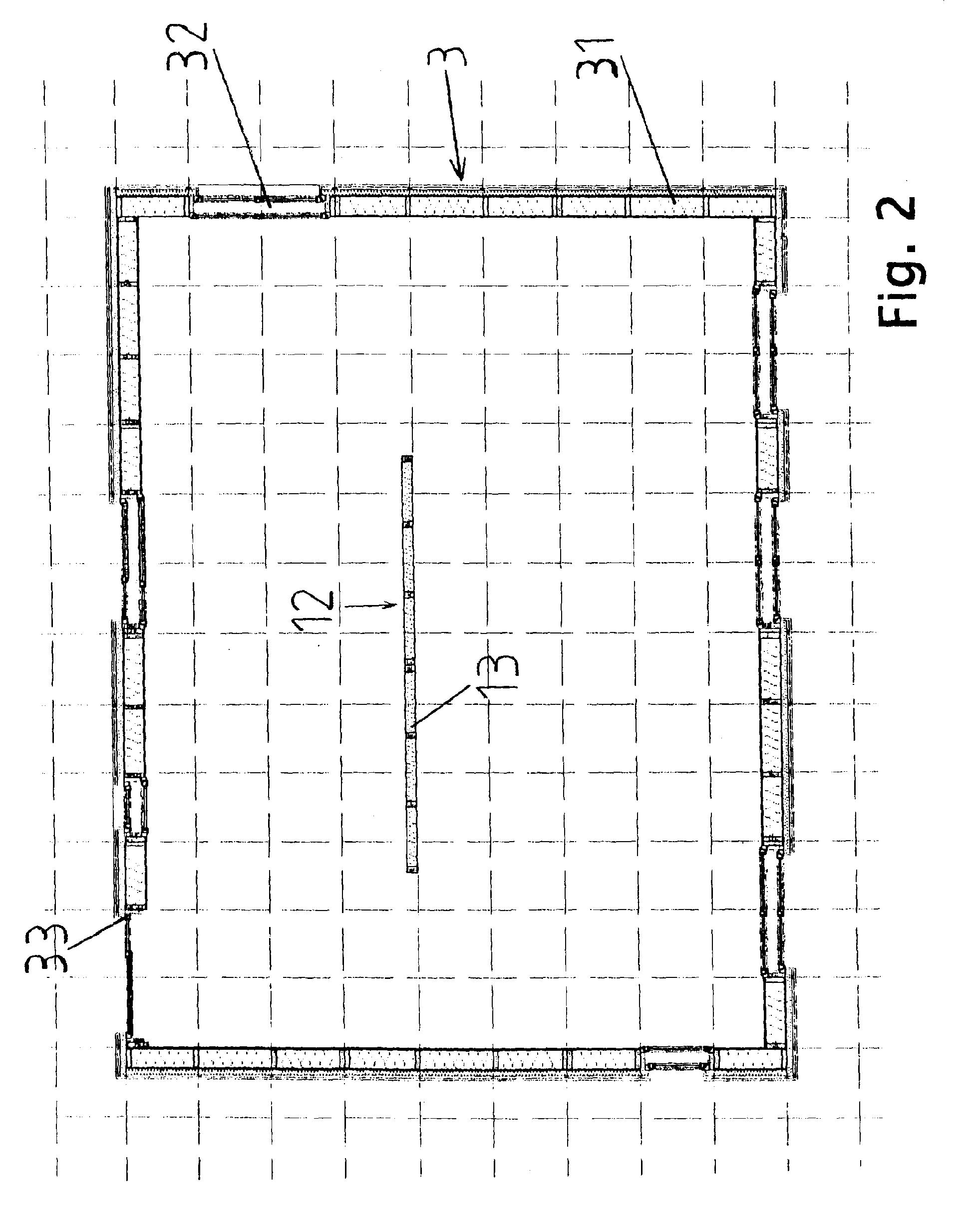 Holzrahmenbau eckverbindung  Patent EP2239383A2 - Variable Gebäudekonstruktion für Holzhäuser ...