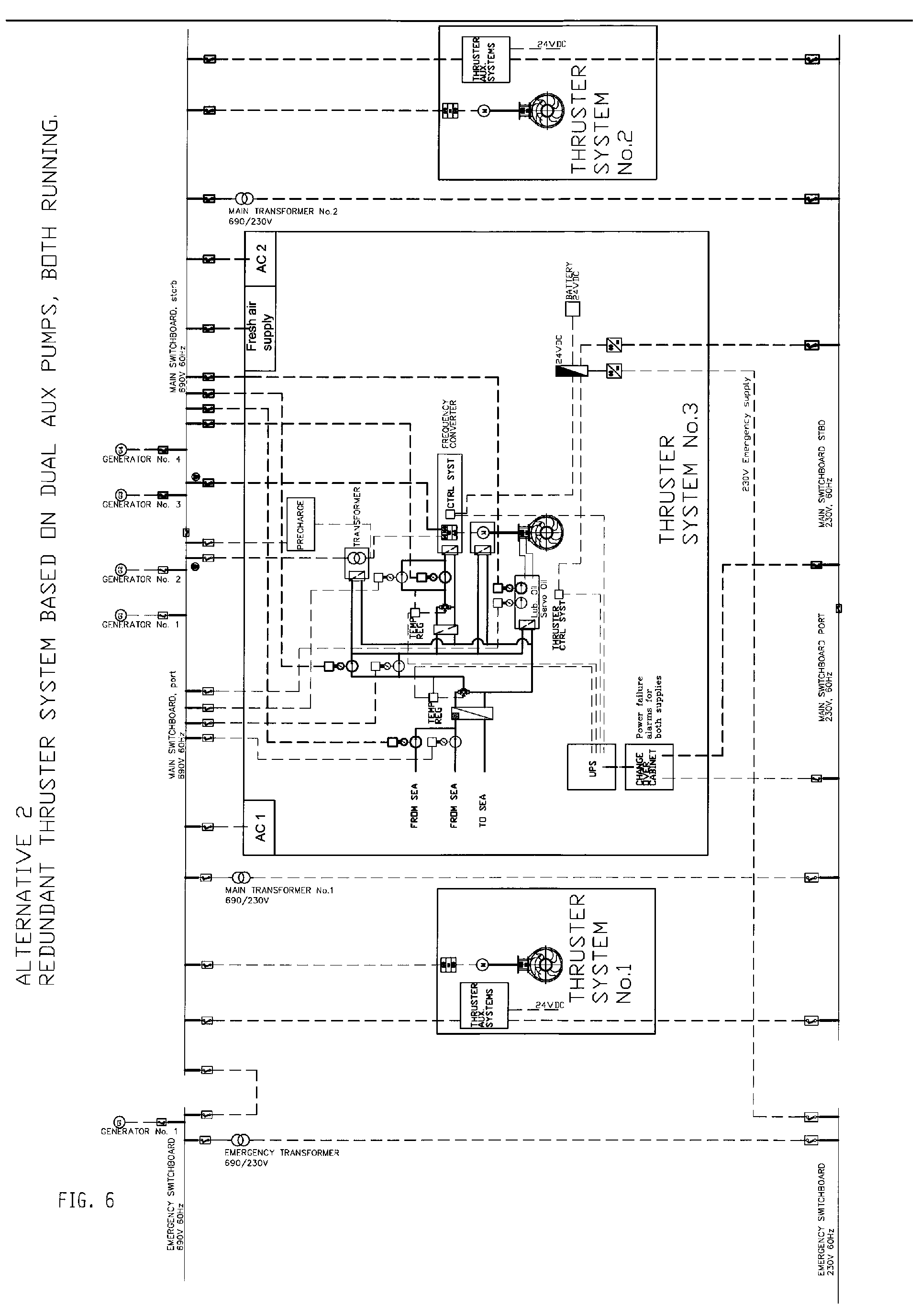 imgf0005 patent ep2243700a2 redundant thruster system google patents side power thruster wiring diagram at fashall.co