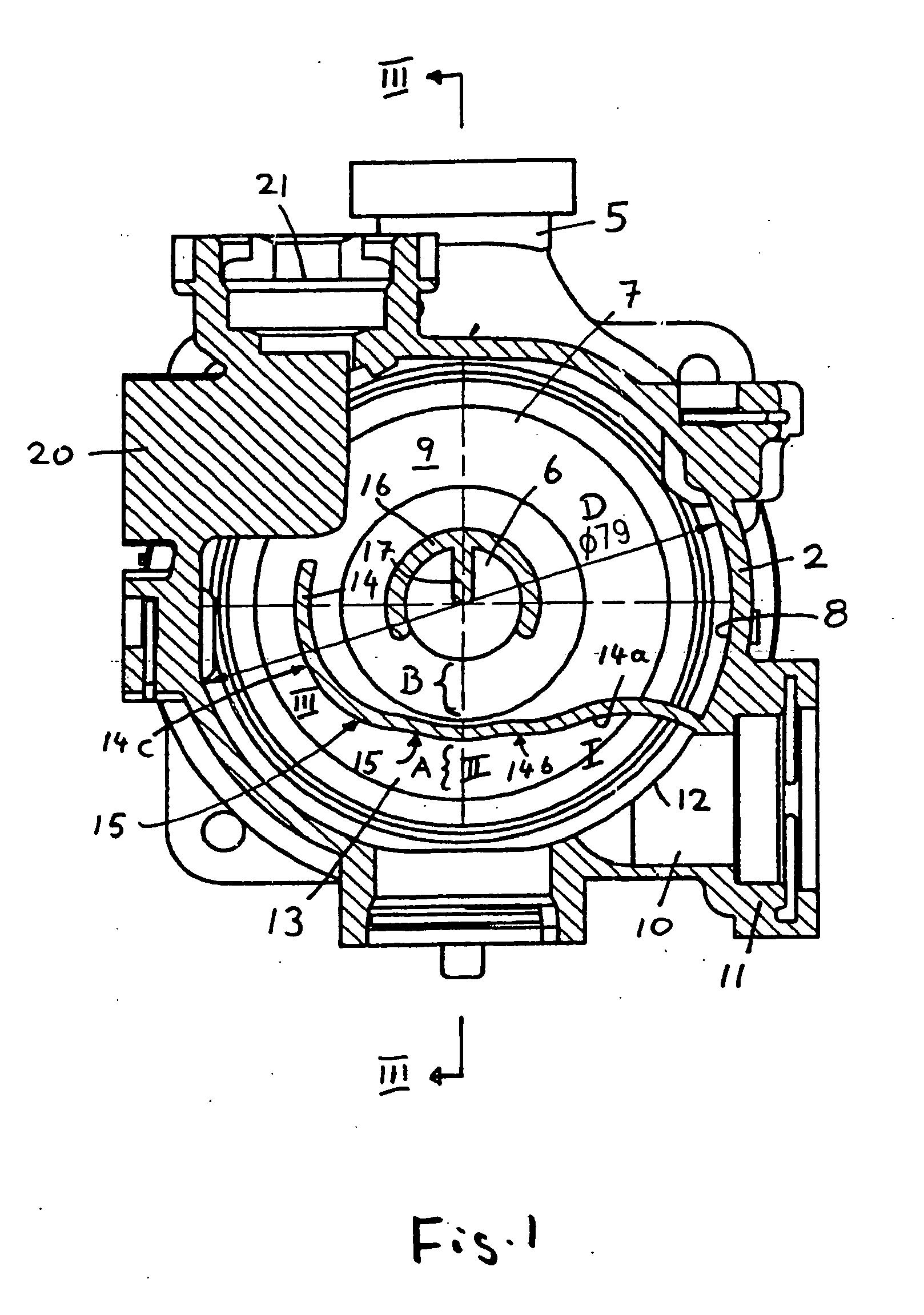 Patent EP B1 Pompe centrifuge dotée d une chambre d