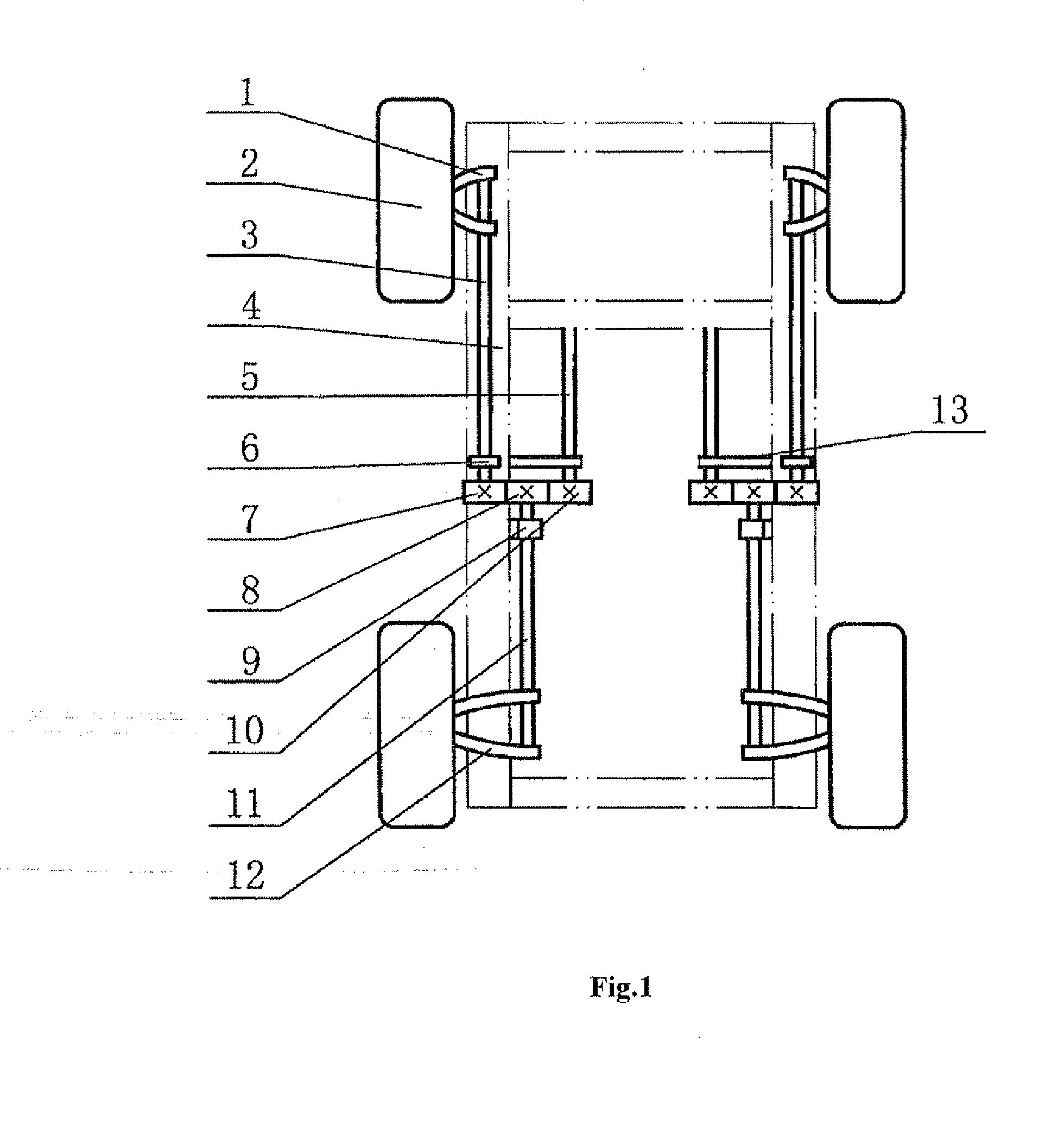 patent ep2255981a1 - torsion bar vehicle suspension device